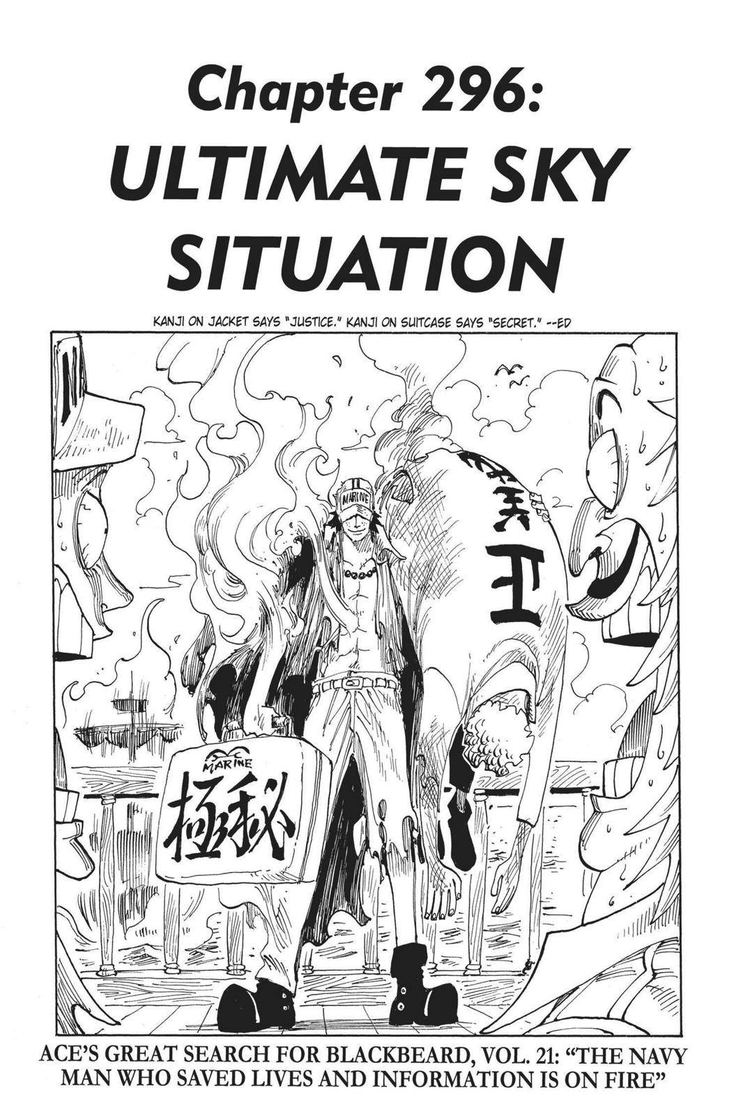 One Piece Chapter 296 Page 7