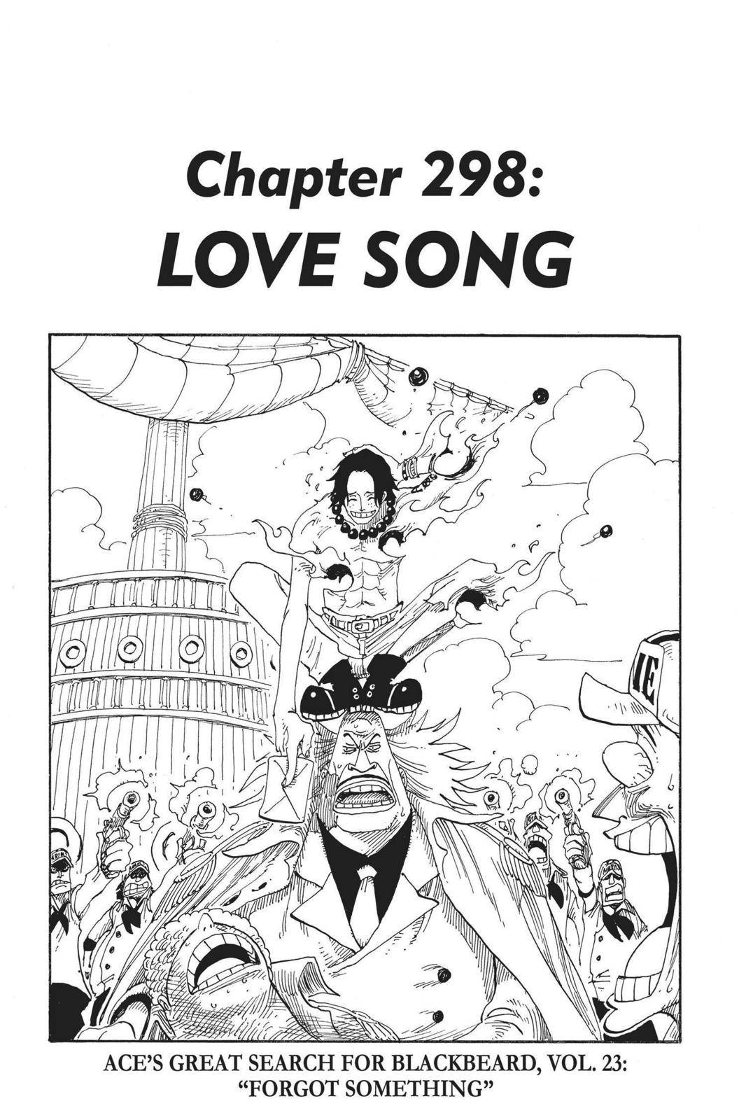 One Piece Chapter 298 Page 1