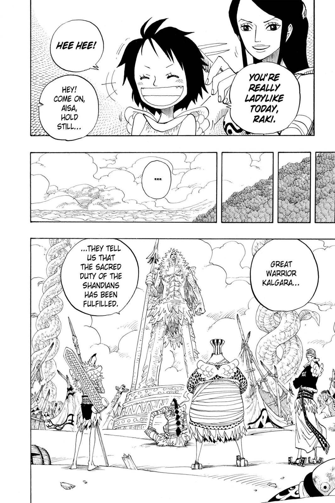 One Piece Chapter 302 Page 4