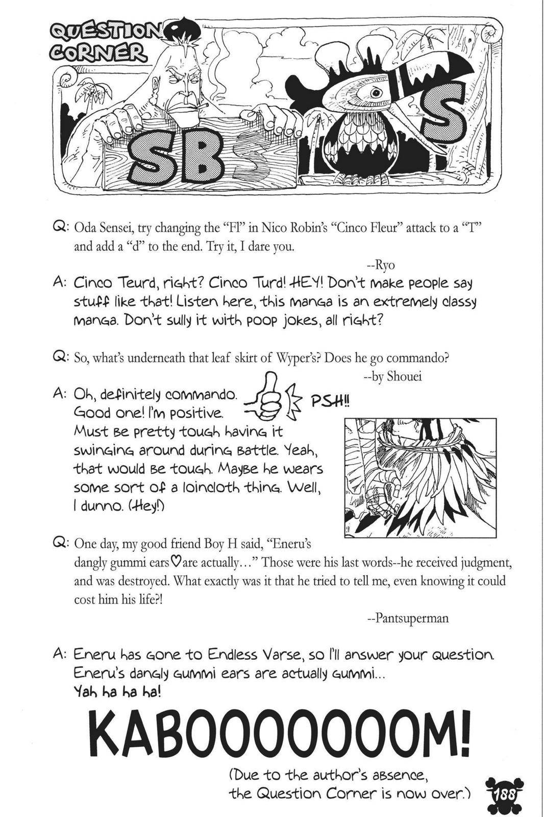 One Piece Chapter 304 Page 20