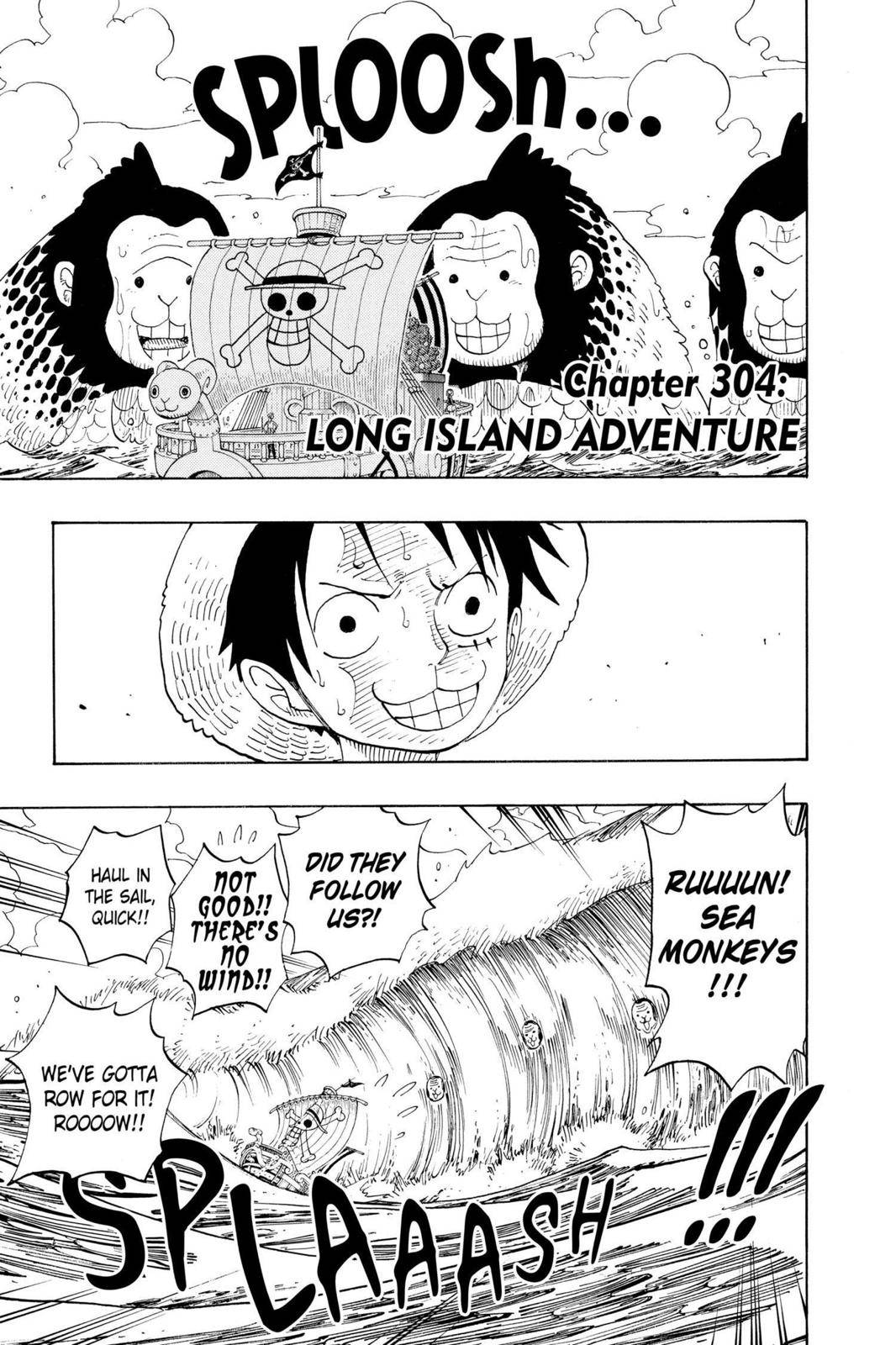 One Piece Chapter 304 Page 4