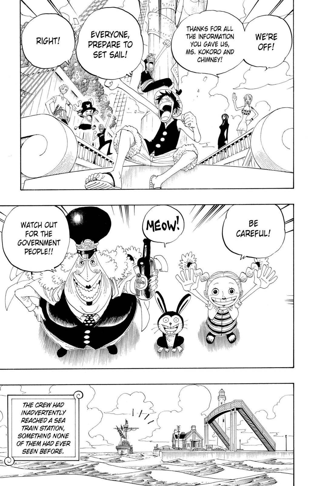 One Piece Chapter 323 Page 3