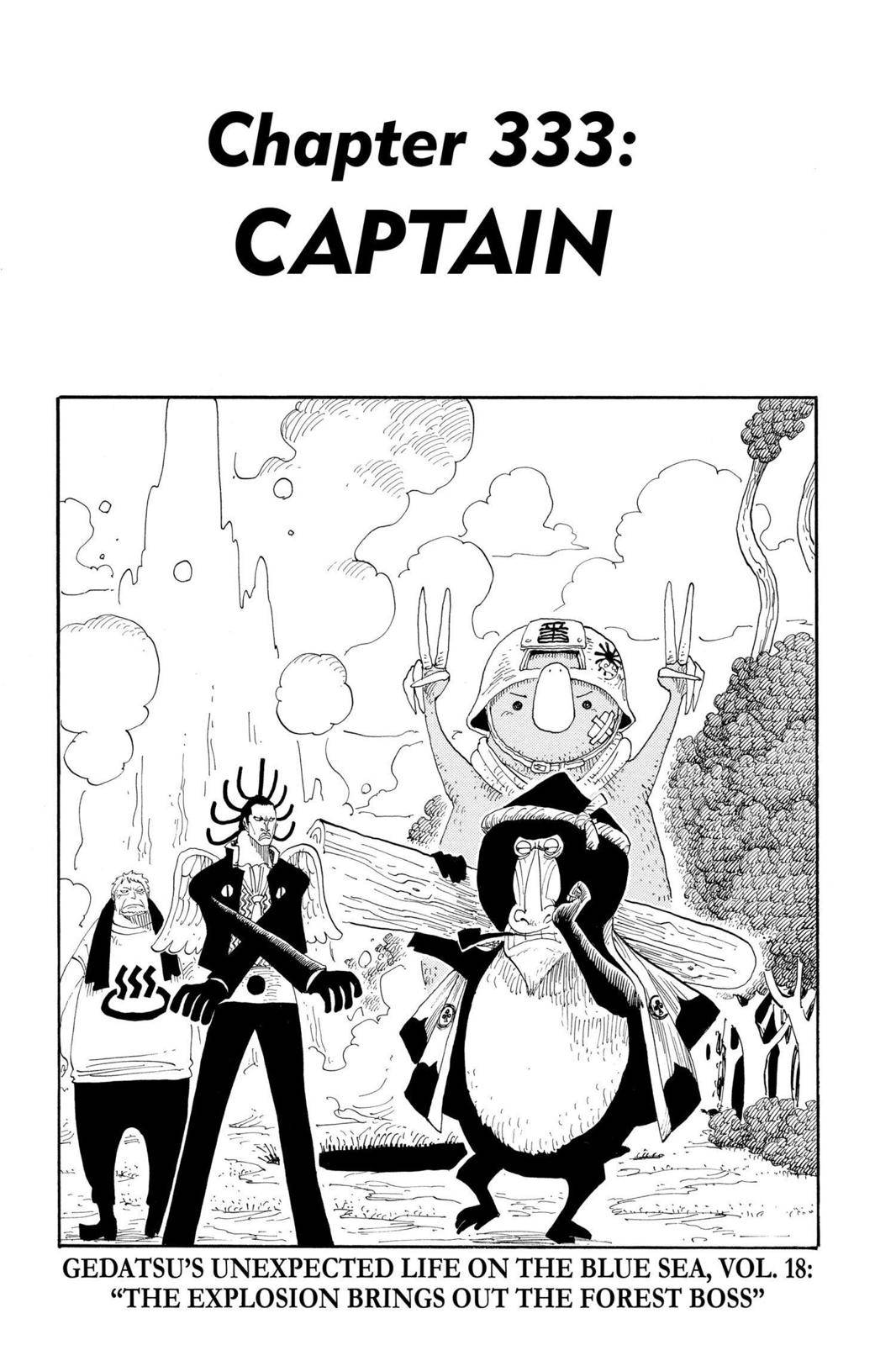 One Piece Chapter 333 Page 1