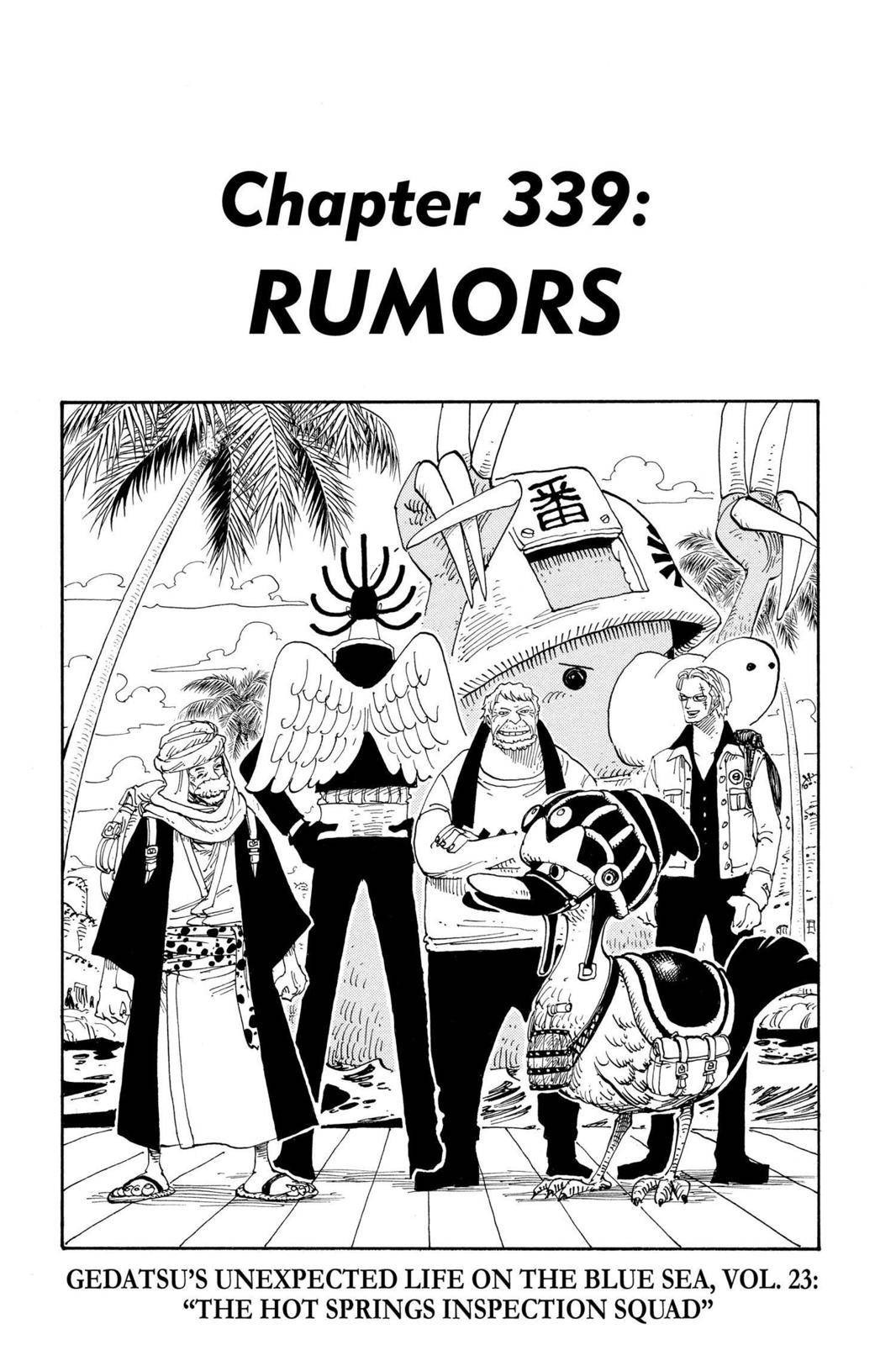 One Piece Chapter 339 Page 1