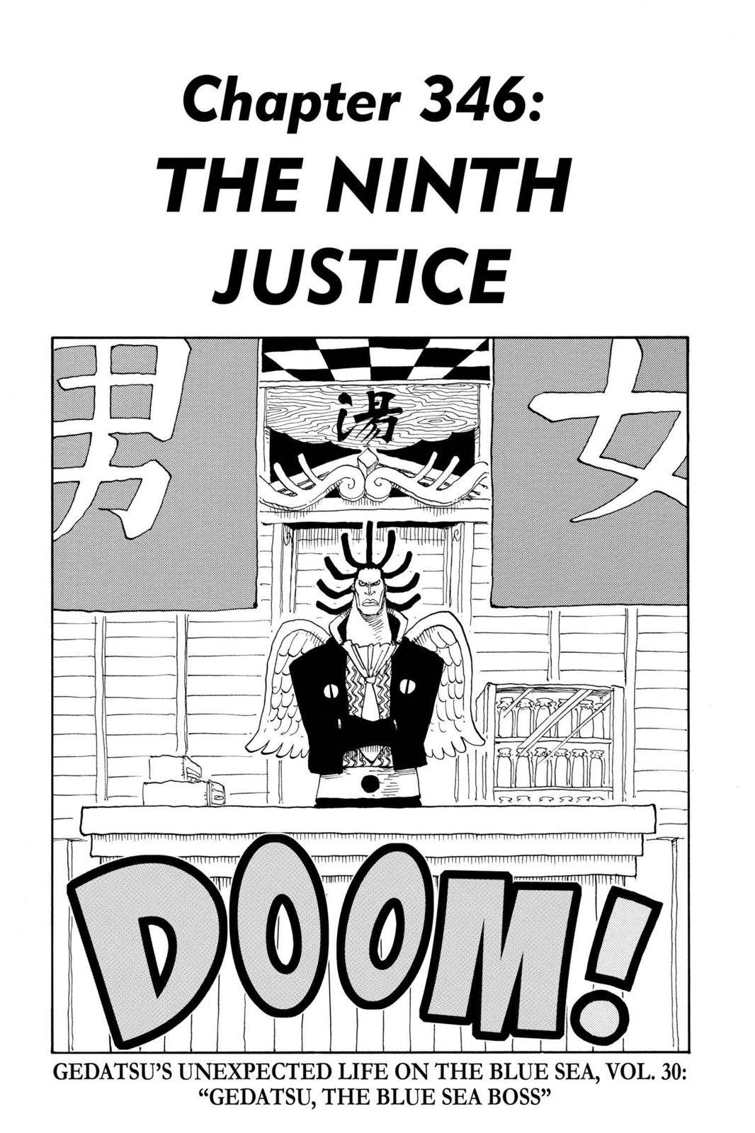 One Piece Chapter 346 Page 1