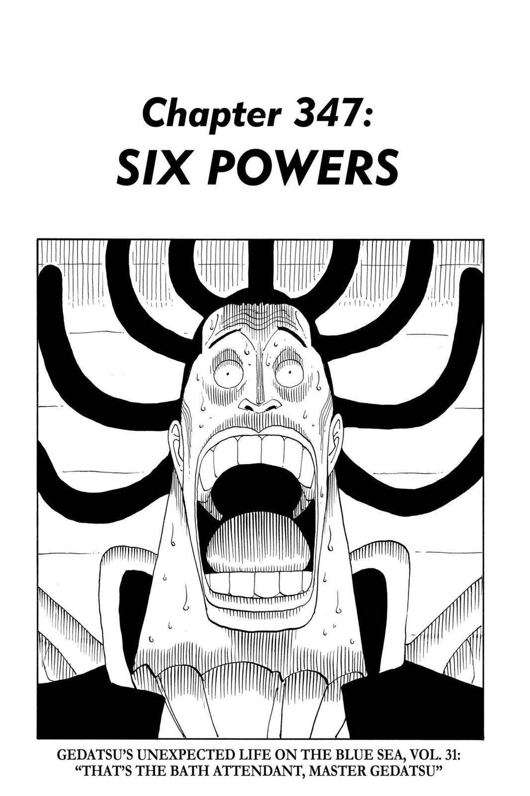 One Piece Chapter 347 Page 7