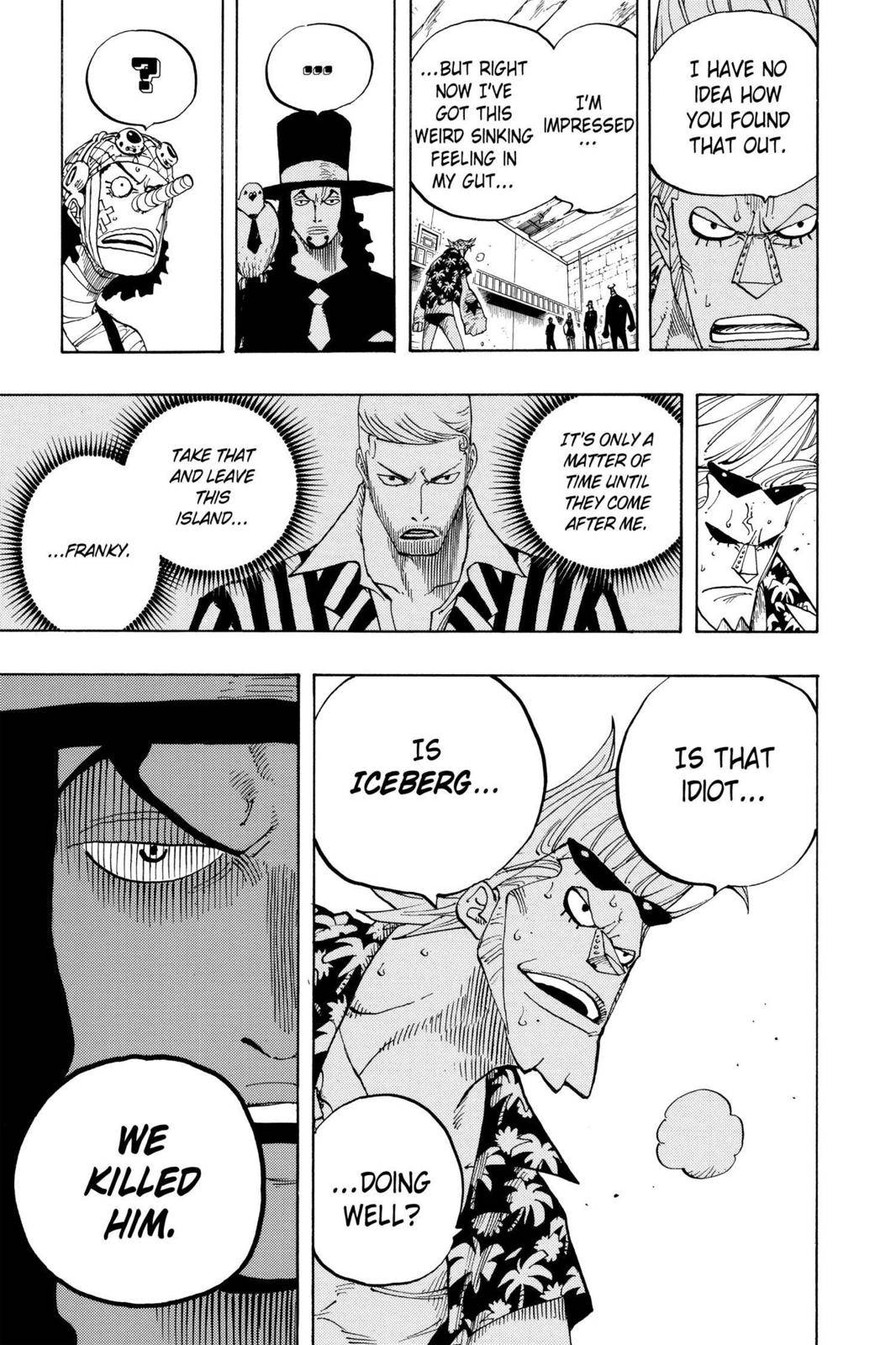 One Piece Chapter 352 Page 13