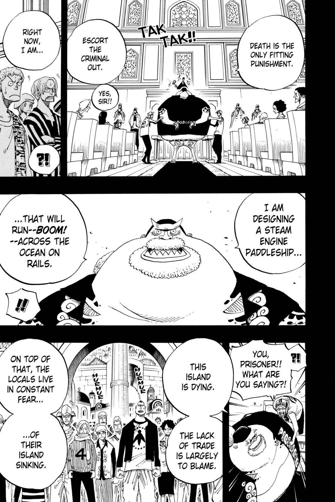 One Piece Chapter 354 Page 4