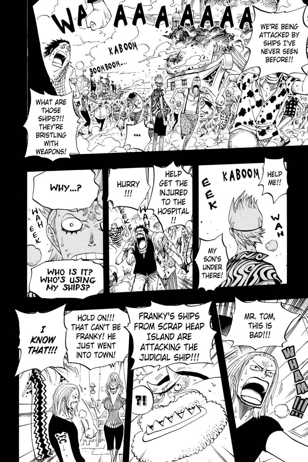 One Piece Chapter 355 Page 17