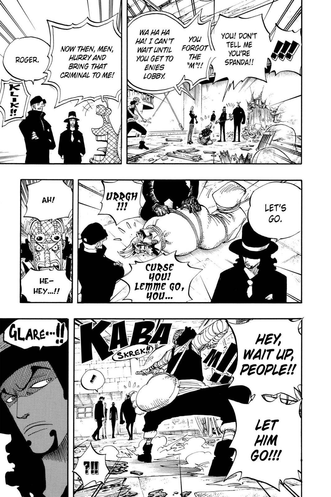 One Piece Chapter 358 Page 21