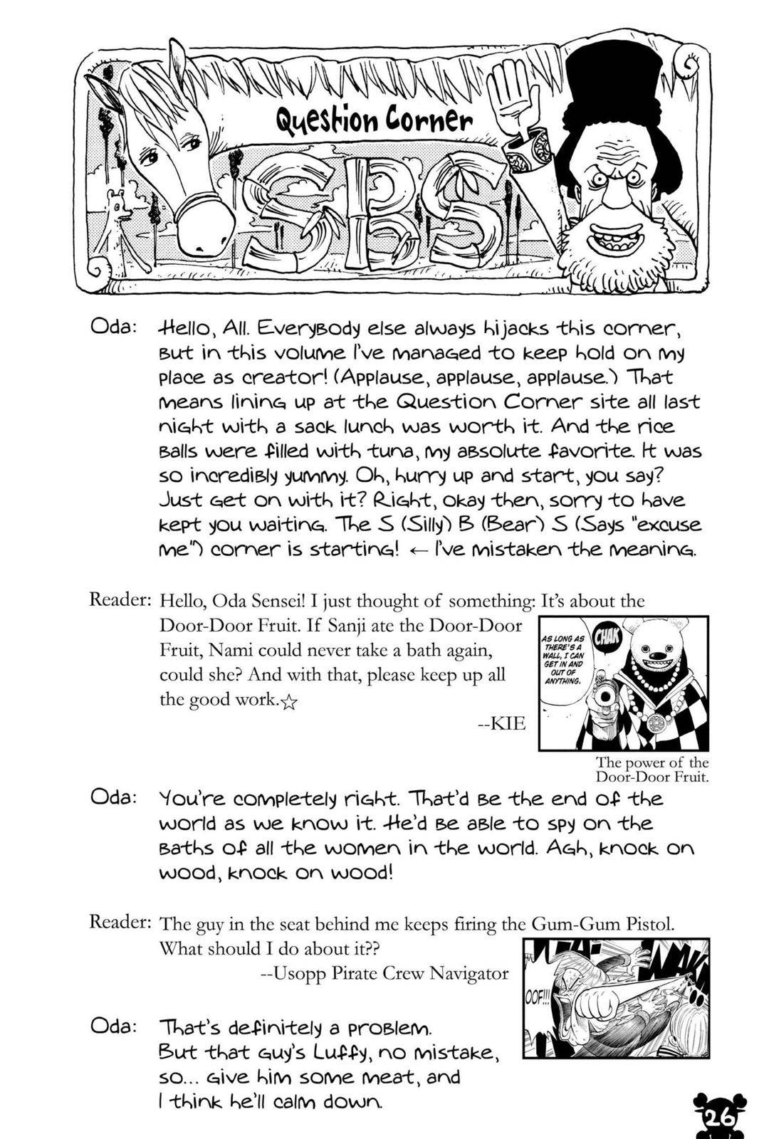 One Piece Chapter 358 Page 26