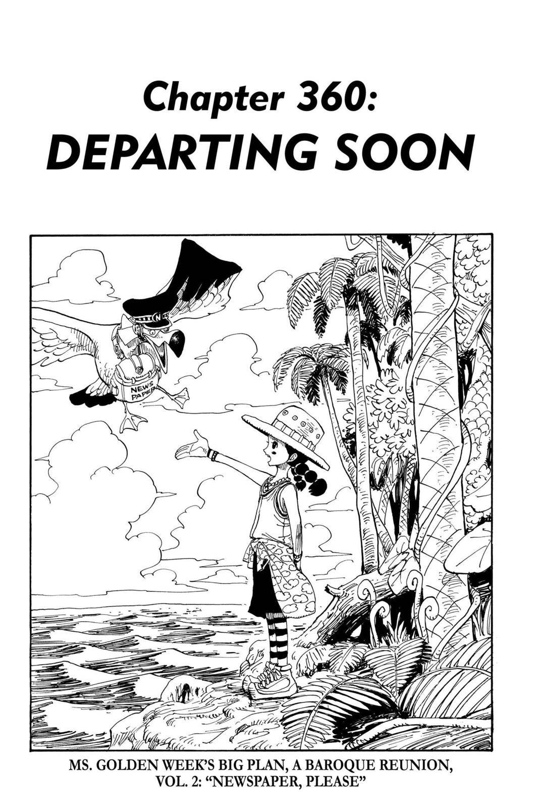 One Piece Chapter 360 Page 1