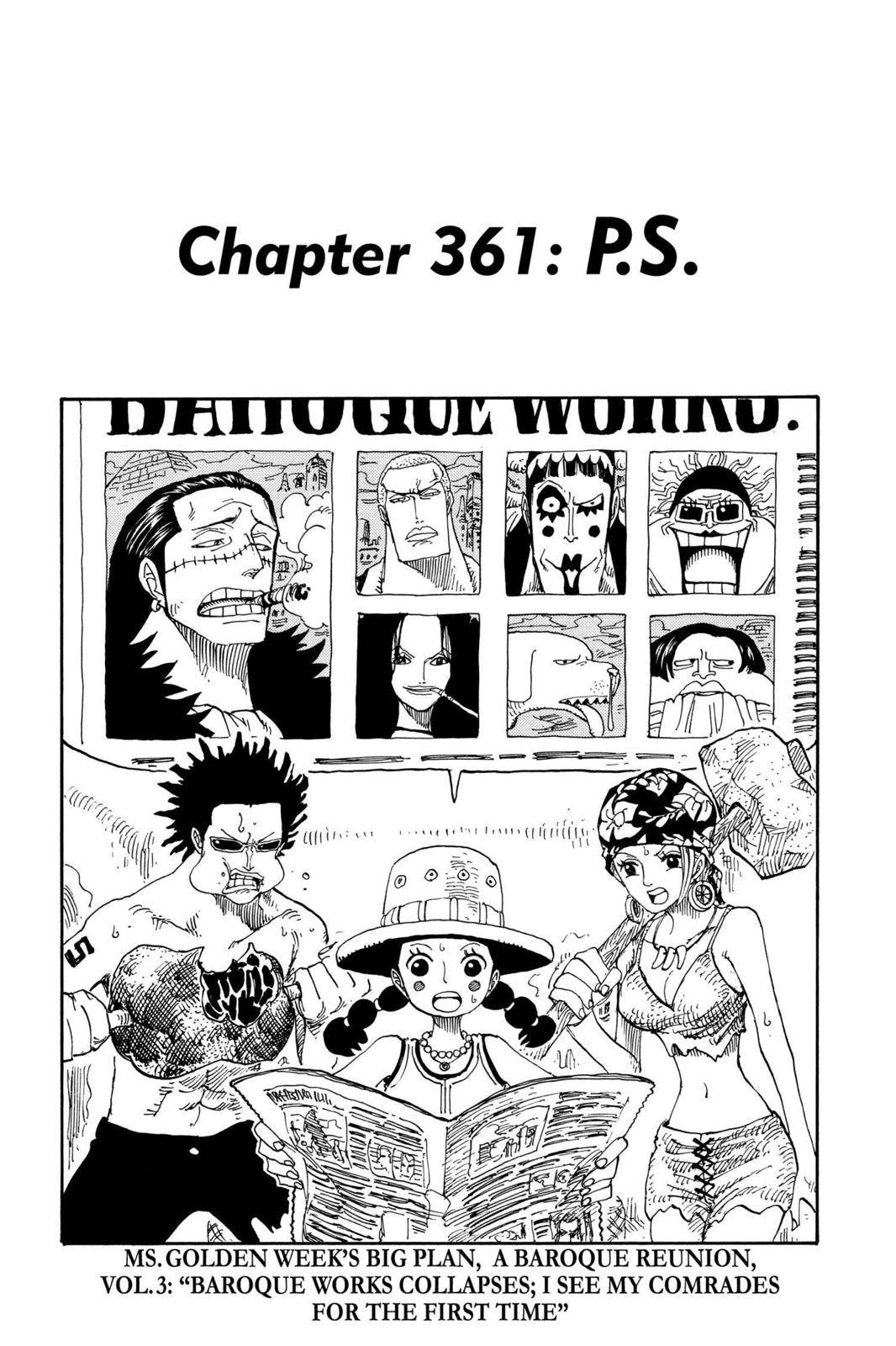 One Piece Chapter 361 Page 1