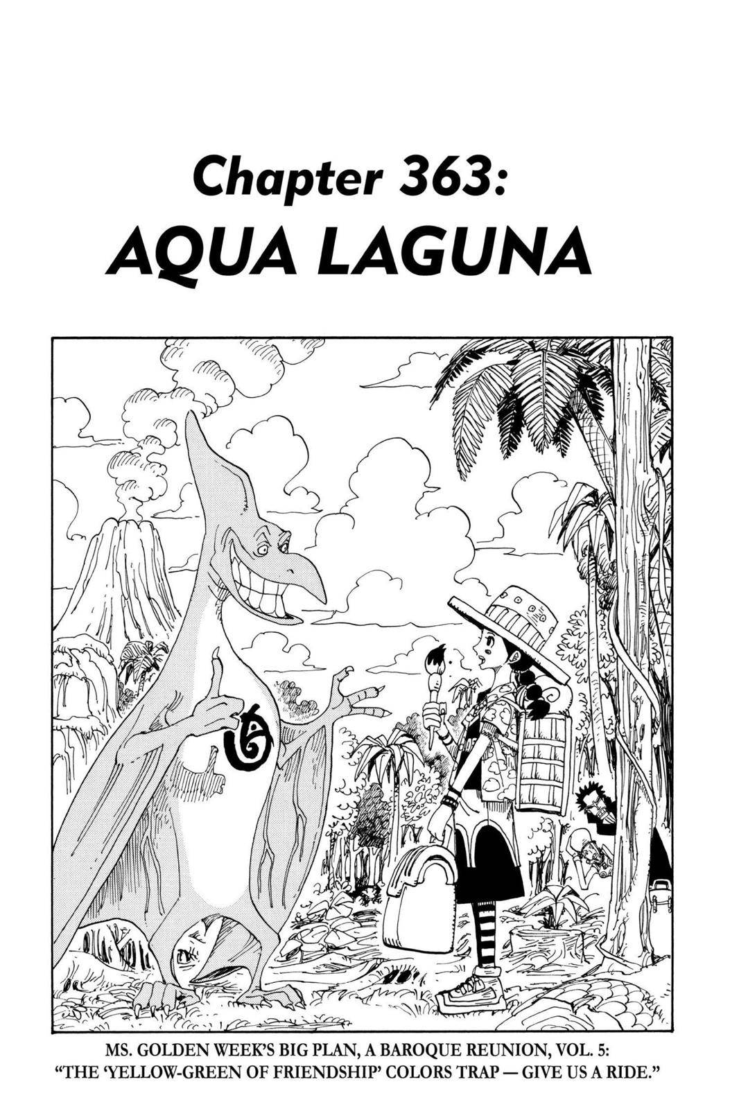 One Piece Chapter 363 Page 1