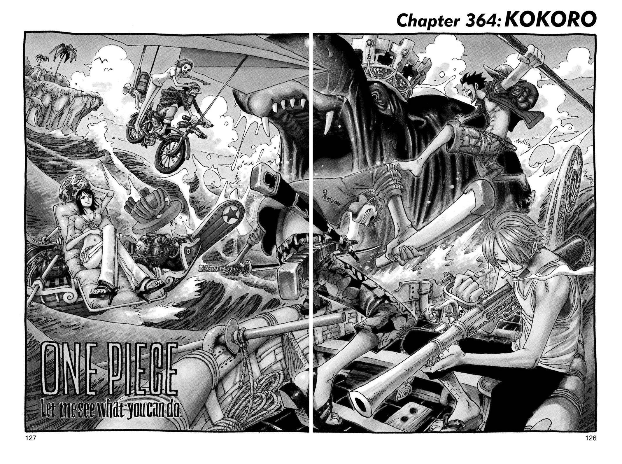 One Piece Chapter 364 Page 1