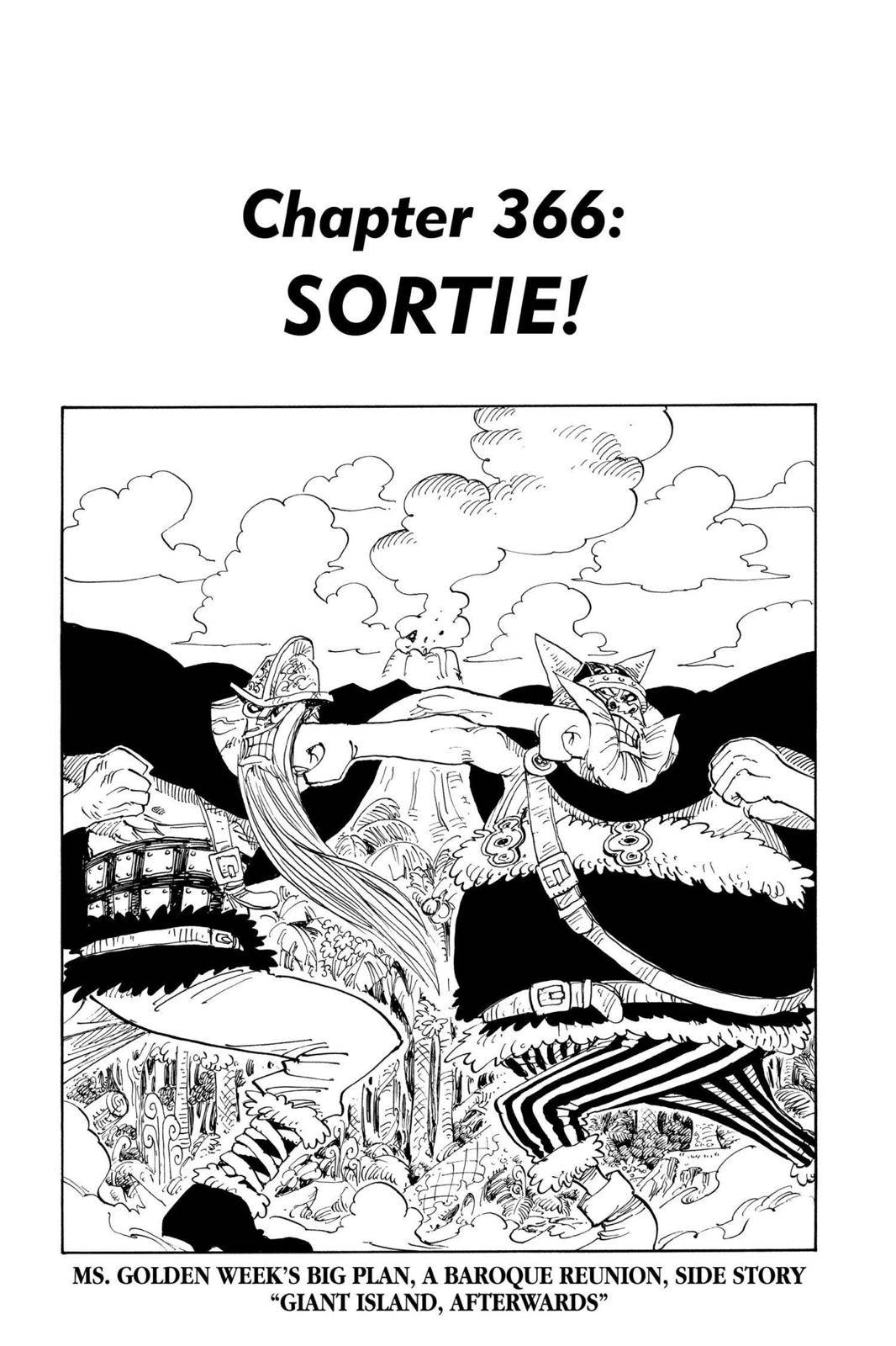One Piece Chapter 366 Page 1