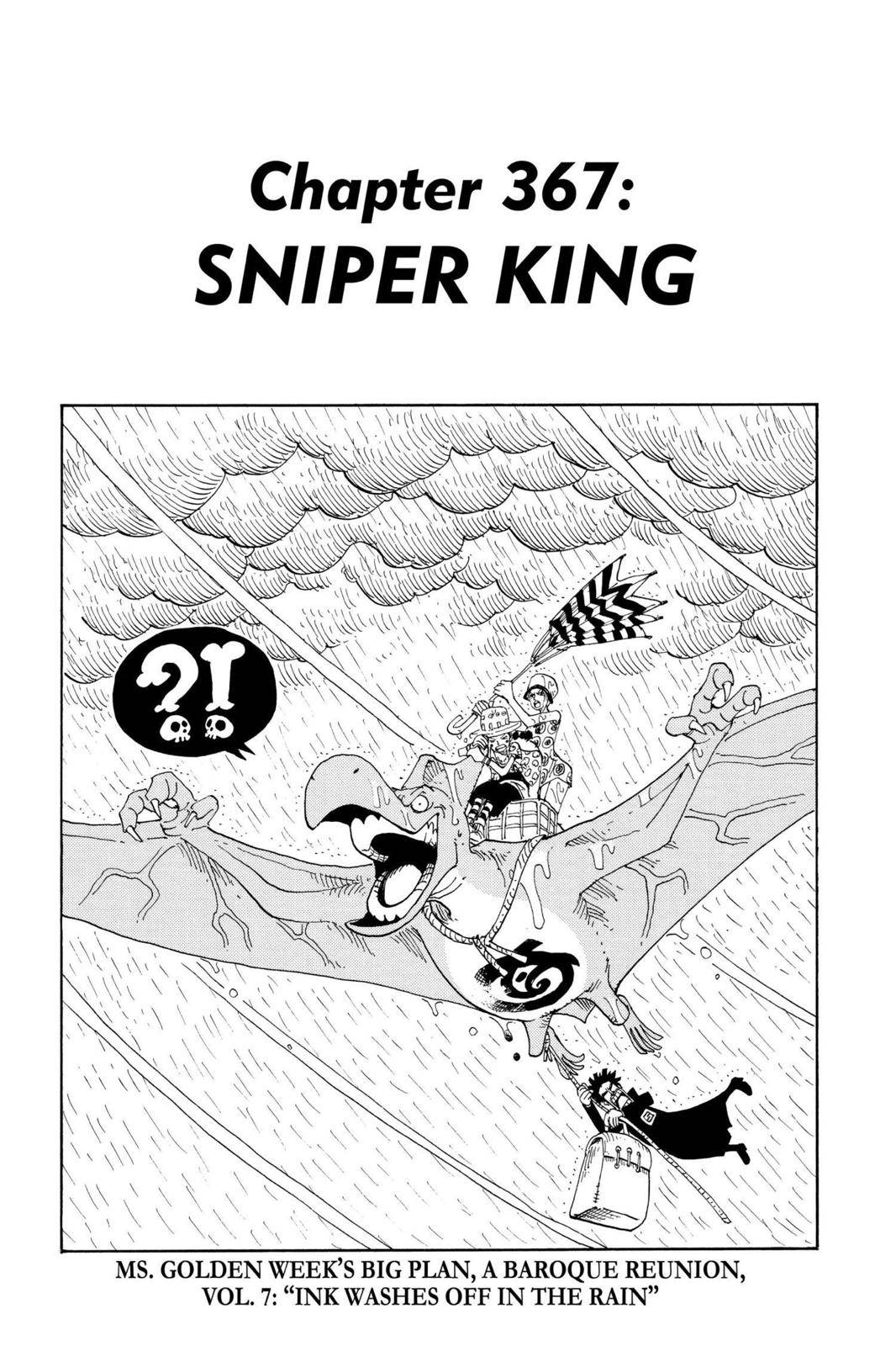 One Piece Chapter 367 Page 1
