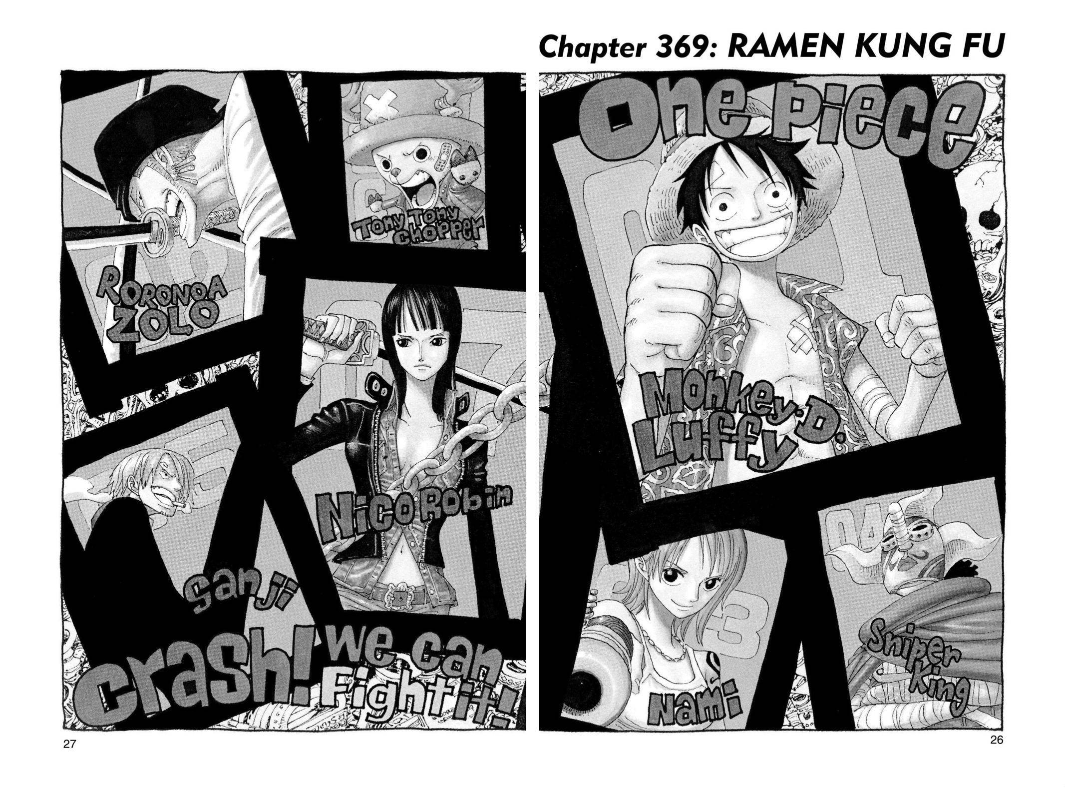 One Piece Chapter 369 Page 1
