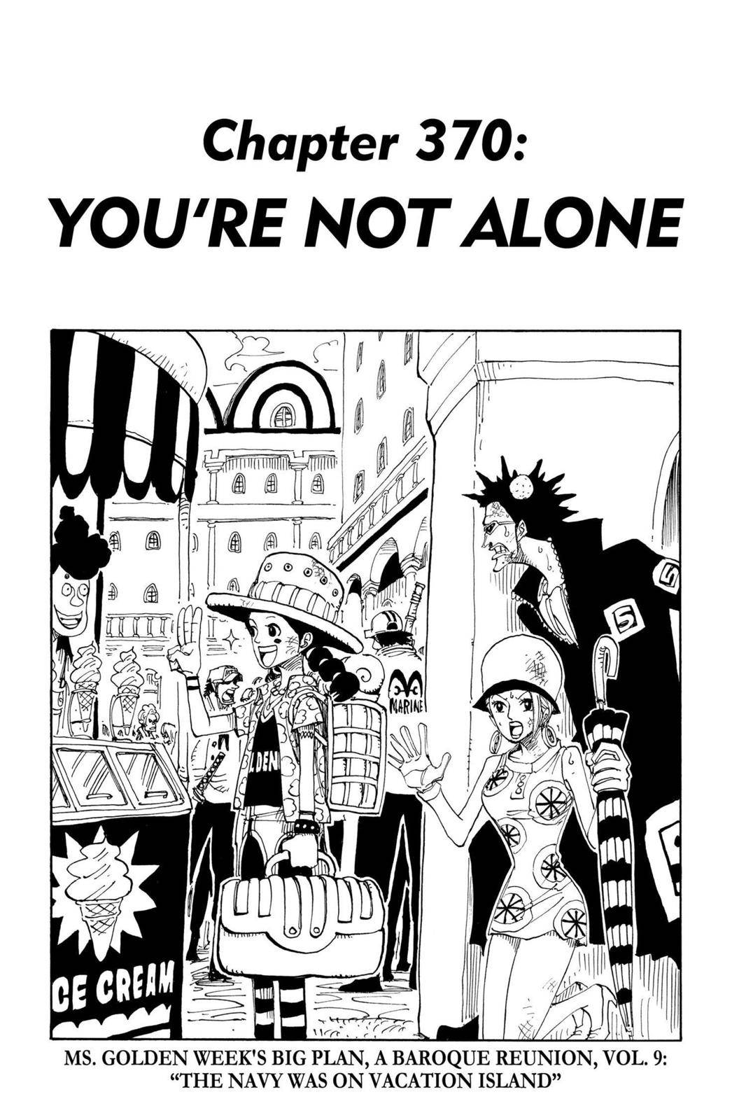 One Piece Chapter 370 Page 1