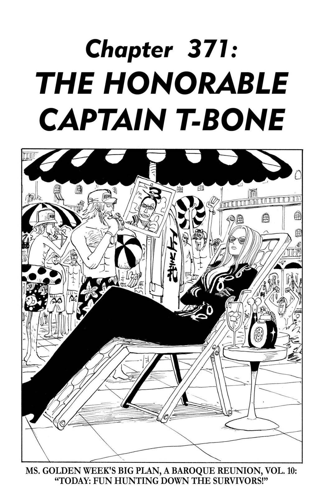 One Piece Chapter 371 Page 1