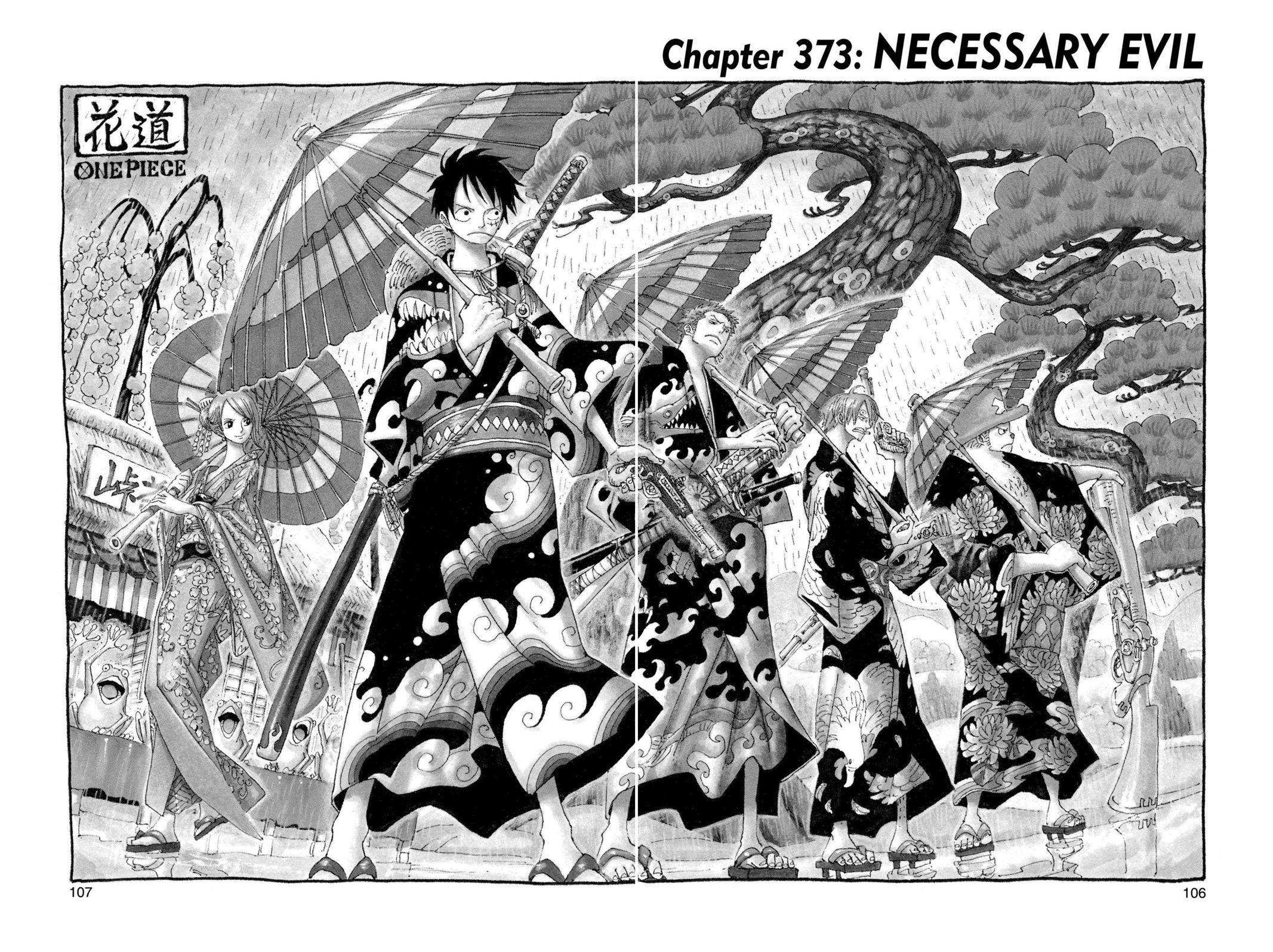 One Piece Chapter 373 Page 1