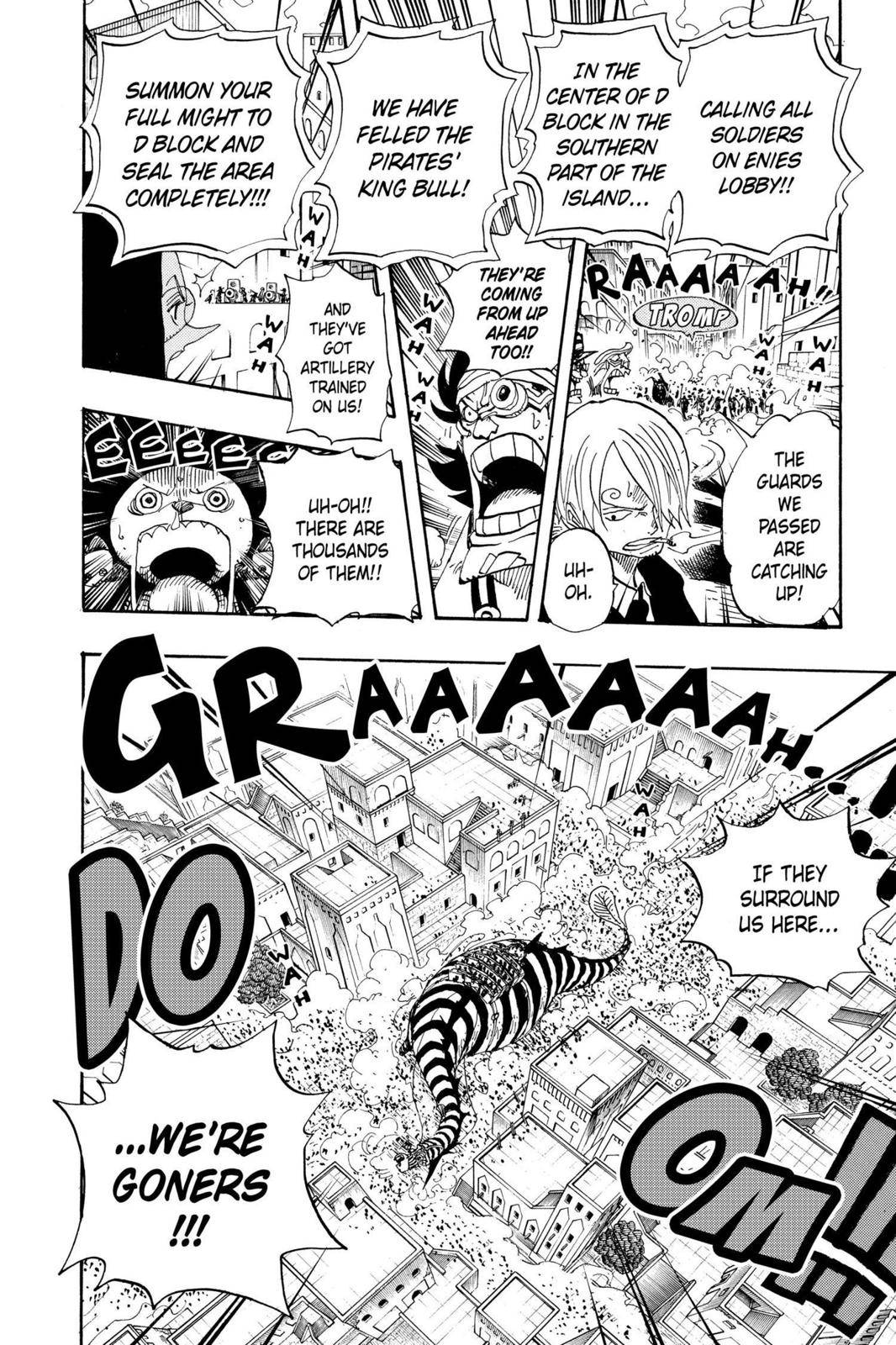 One Piece Chapter 384 Page 16