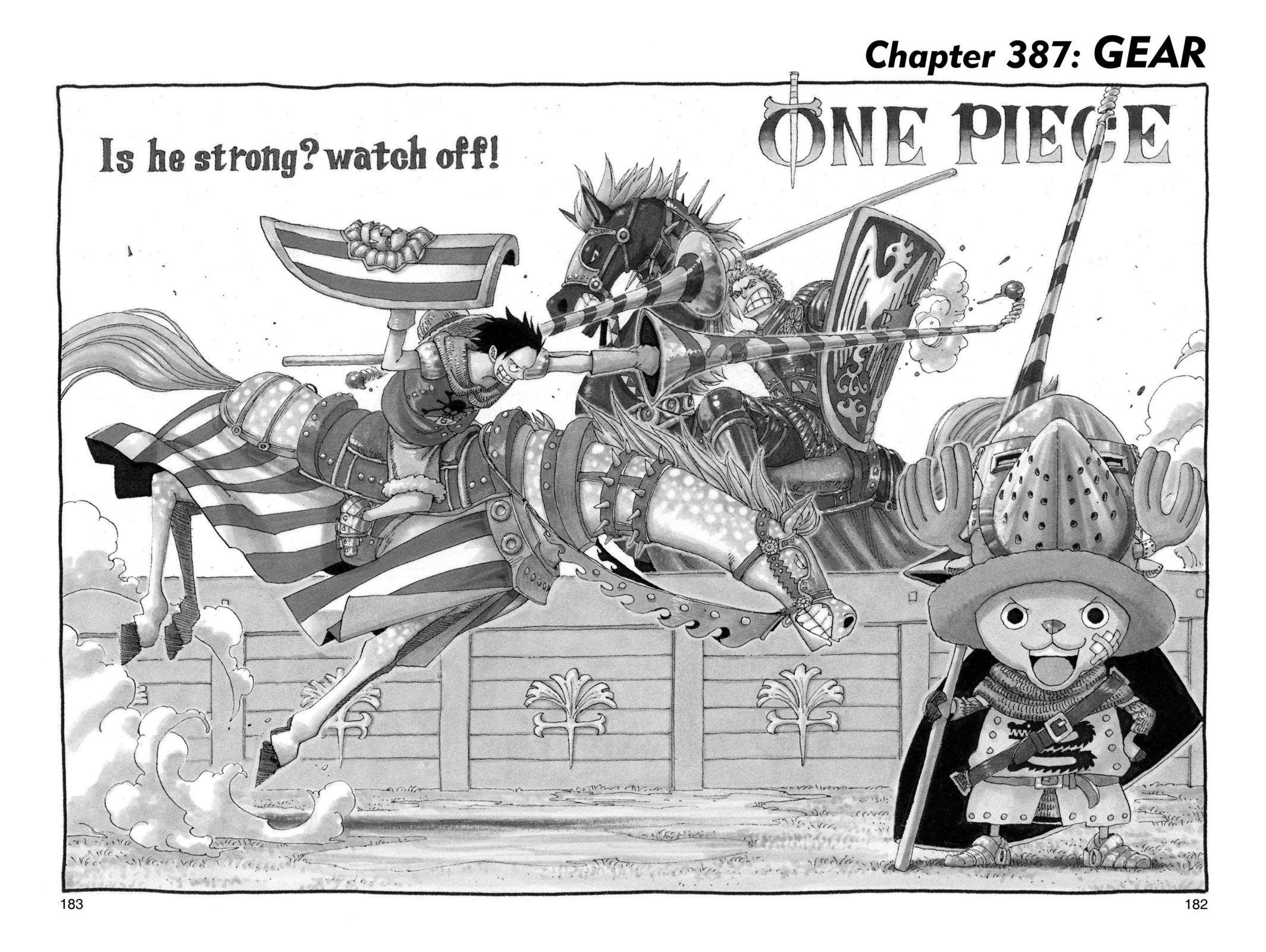 One Piece Chapter 387 Page 1