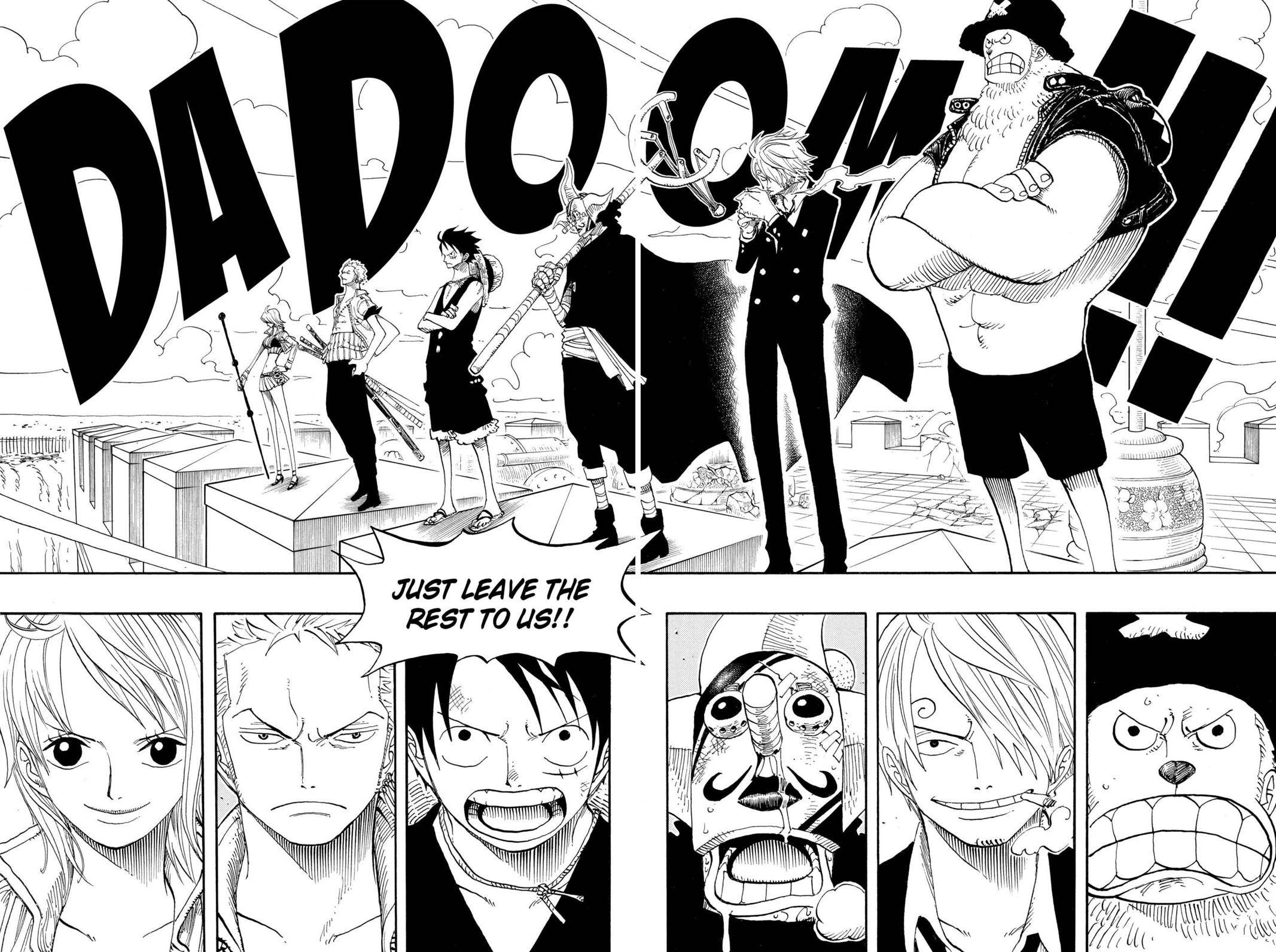 One Piece Chapter 390 Page 17