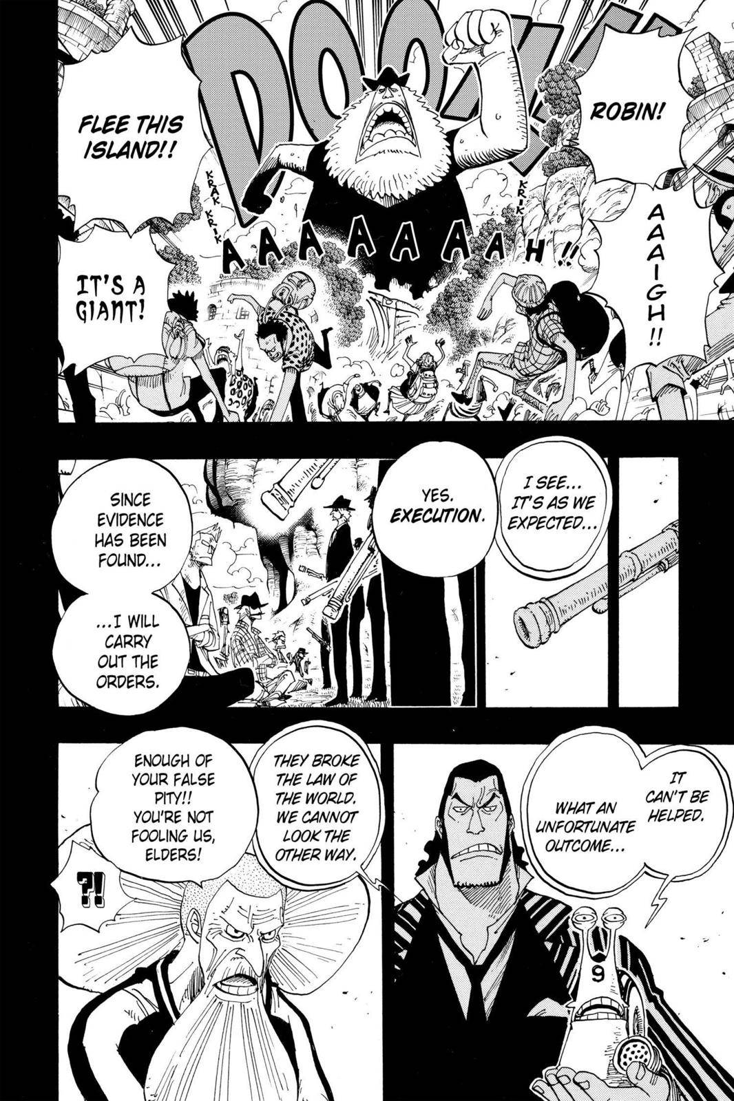 One Piece Chapter 395 Page 4