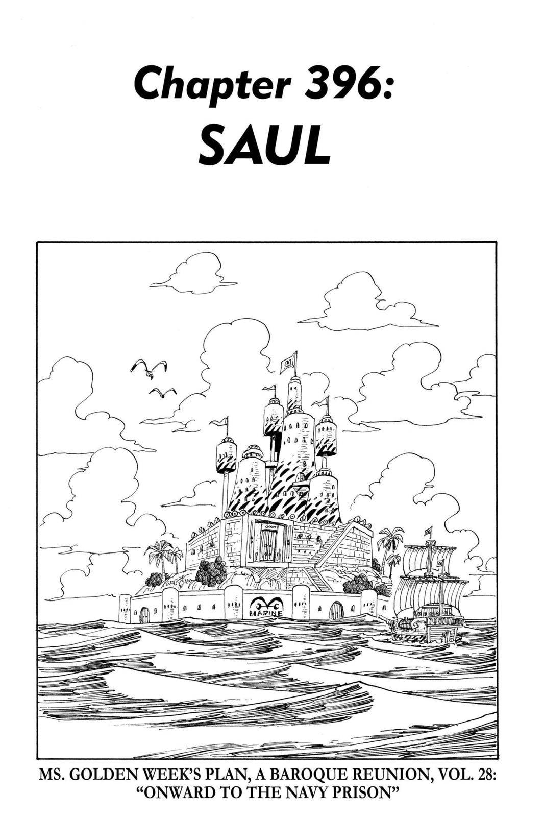 One Piece Chapter 396 Page 1