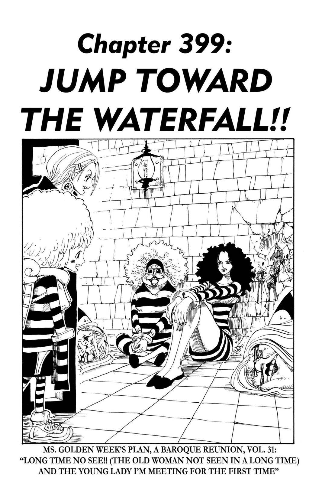 One Piece Chapter 399 Page 1