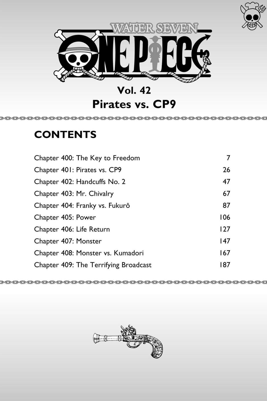 One Piece Chapter 400 Page 6