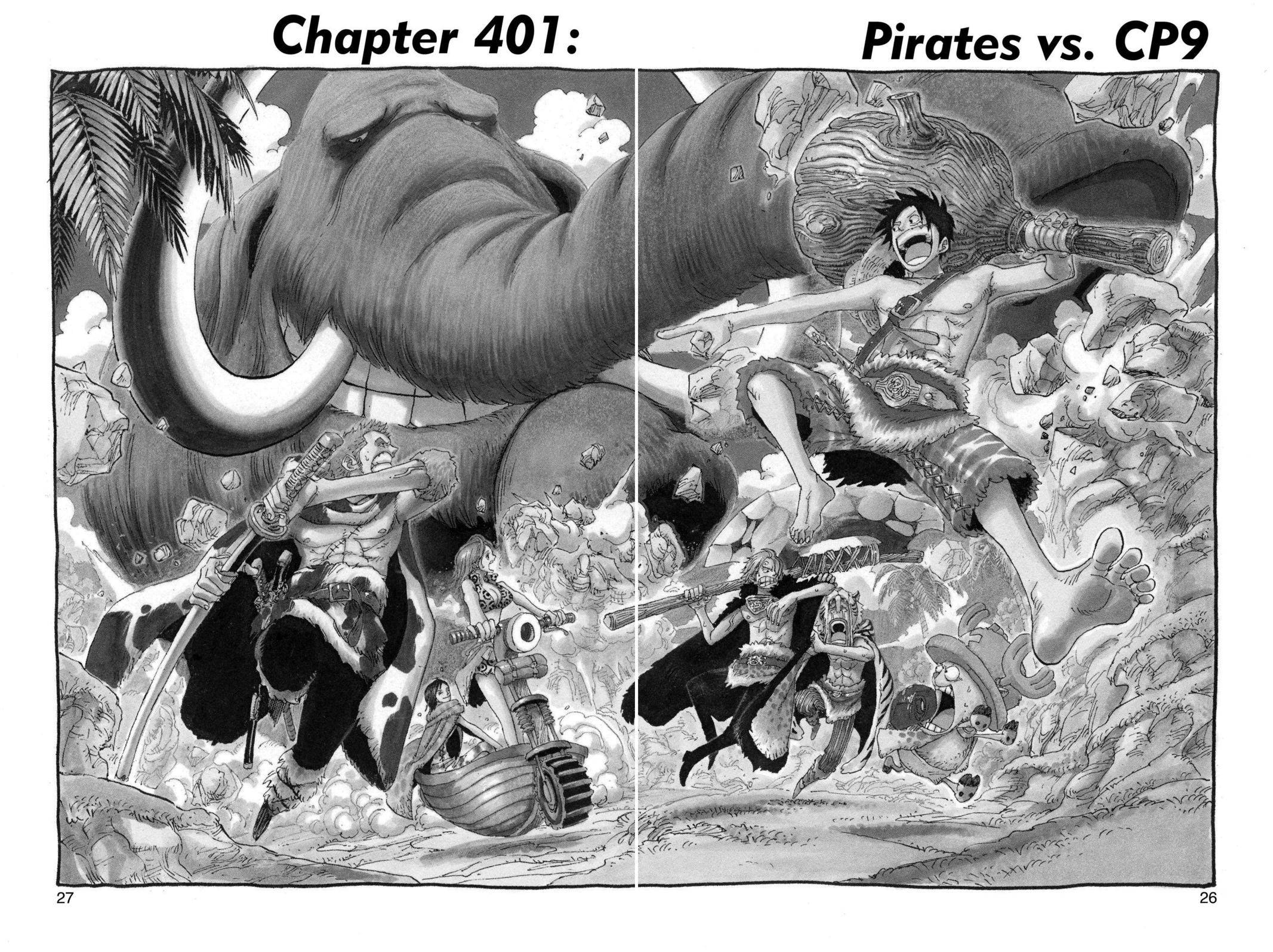 One Piece Chapter 401 Page 1
