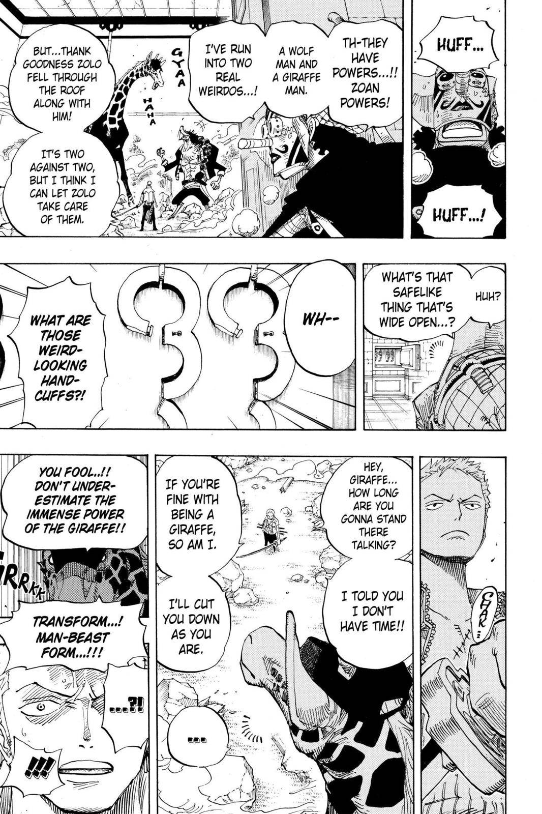 One Piece Chapter 402 Page 3