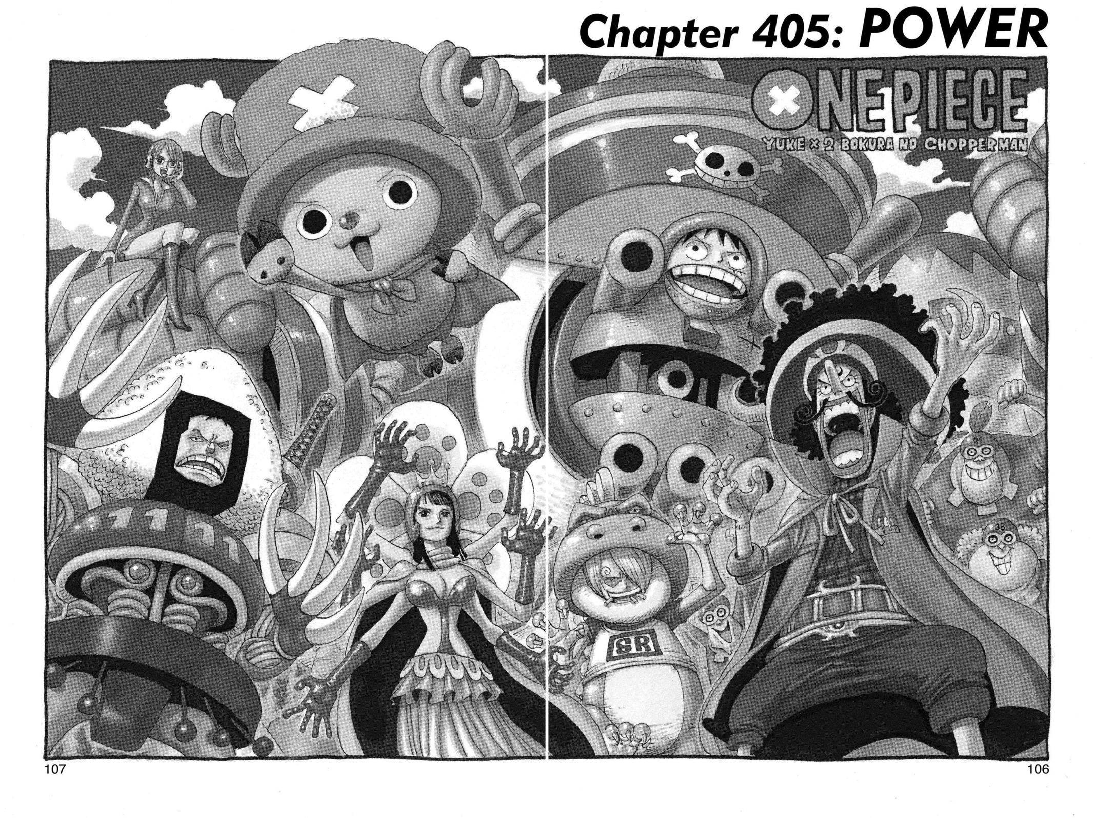 One Piece Chapter 405 Page 1