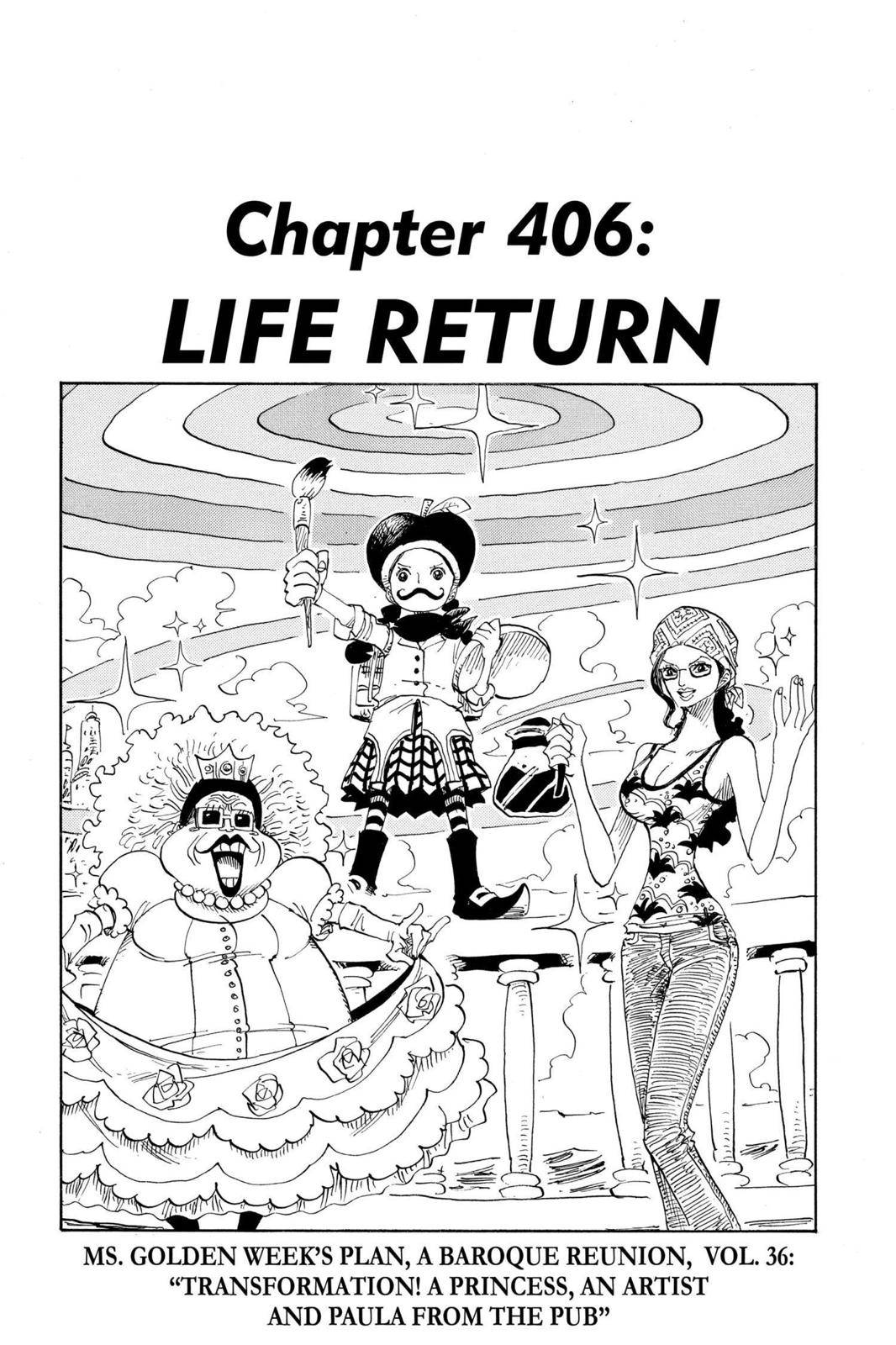 One Piece Chapter 406 Page 1