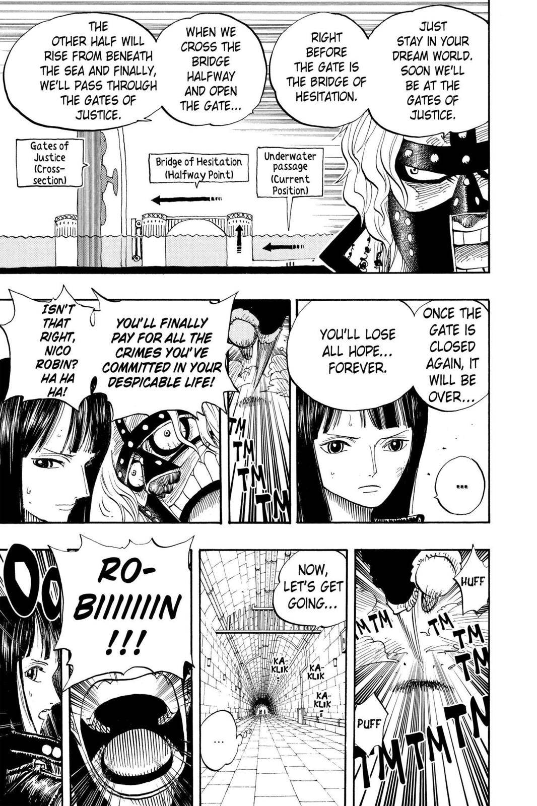 One Piece Chapter 408 Page 16