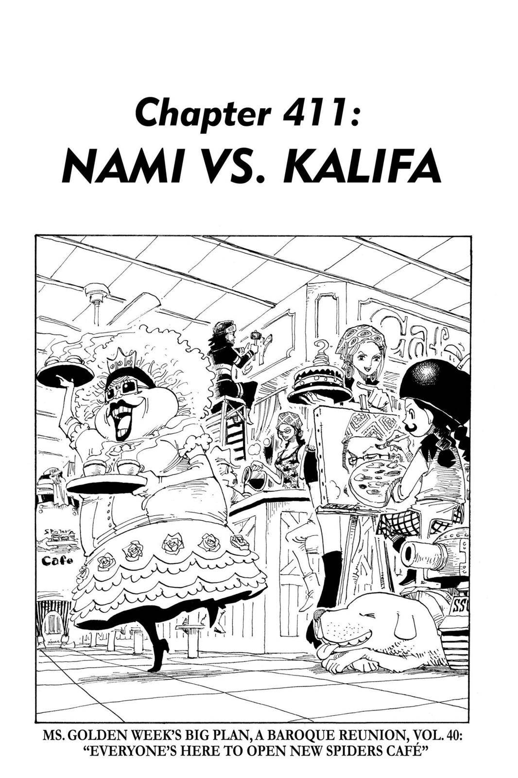 One Piece Chapter 411 Page 1