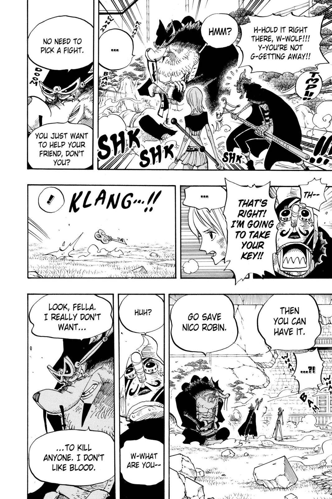One Piece Chapter 413 Page 12