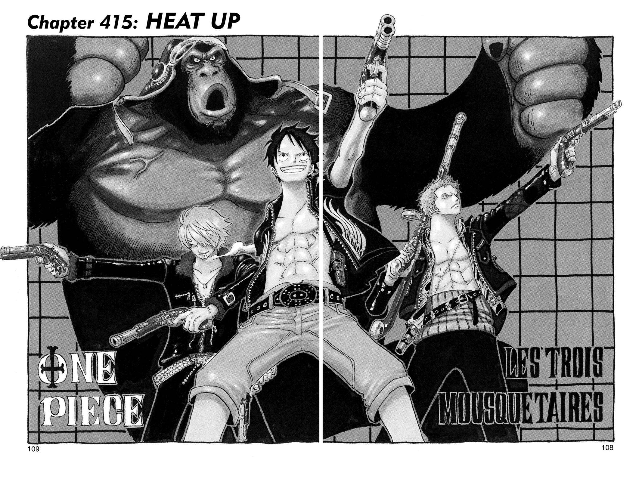 One Piece Chapter 415 Page 1