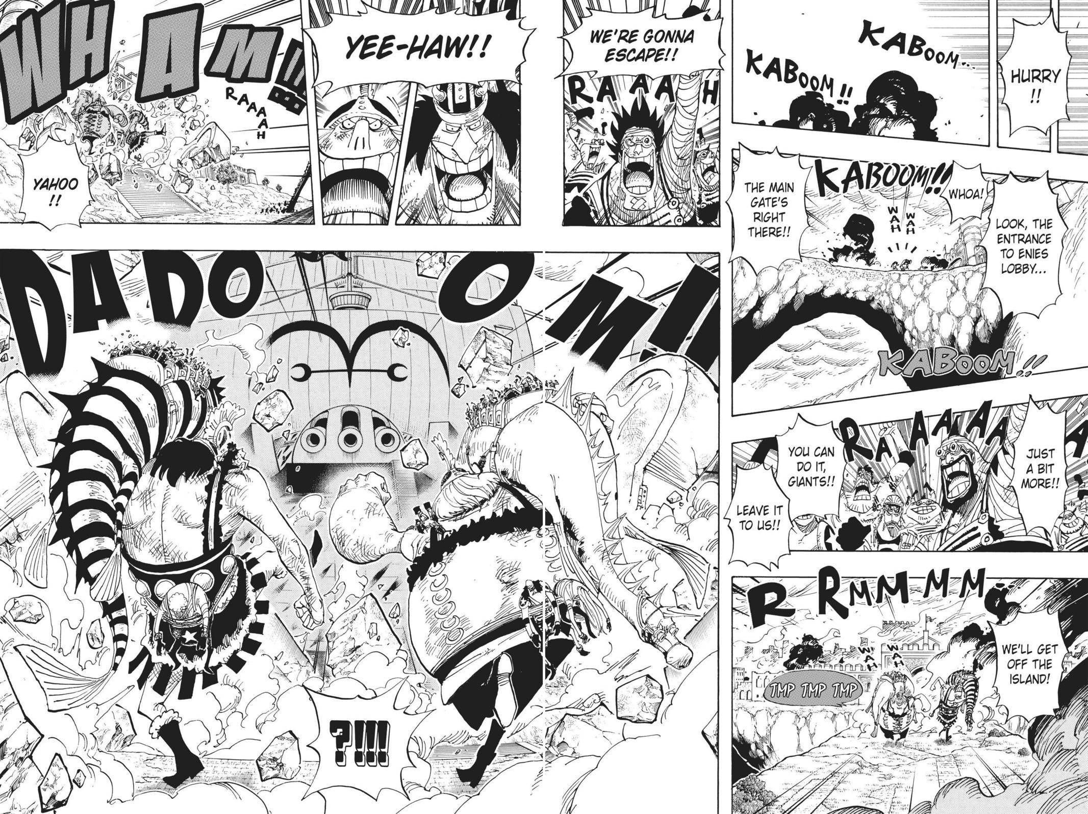 One Piece Chapter 424 Page 4