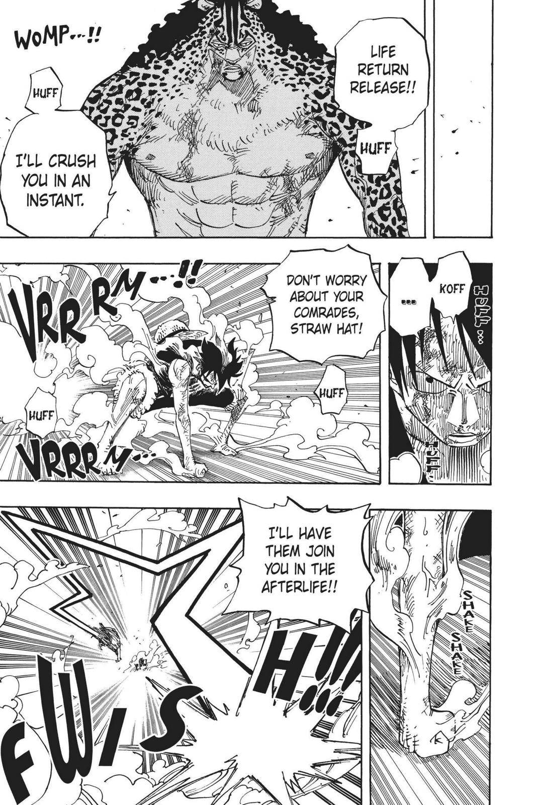 One Piece Chapter 427 Page 9
