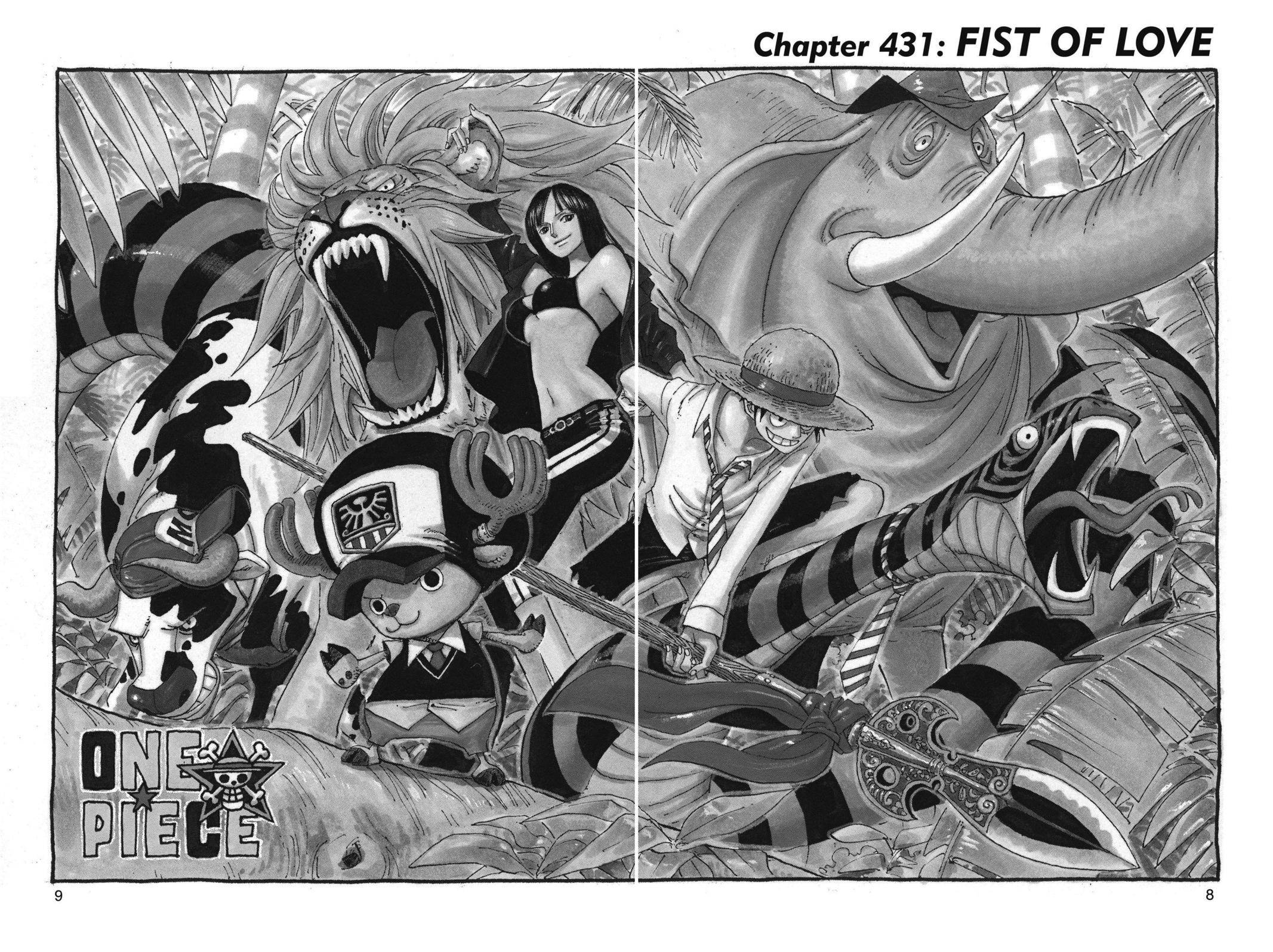 One Piece Chapter 431 Page 8