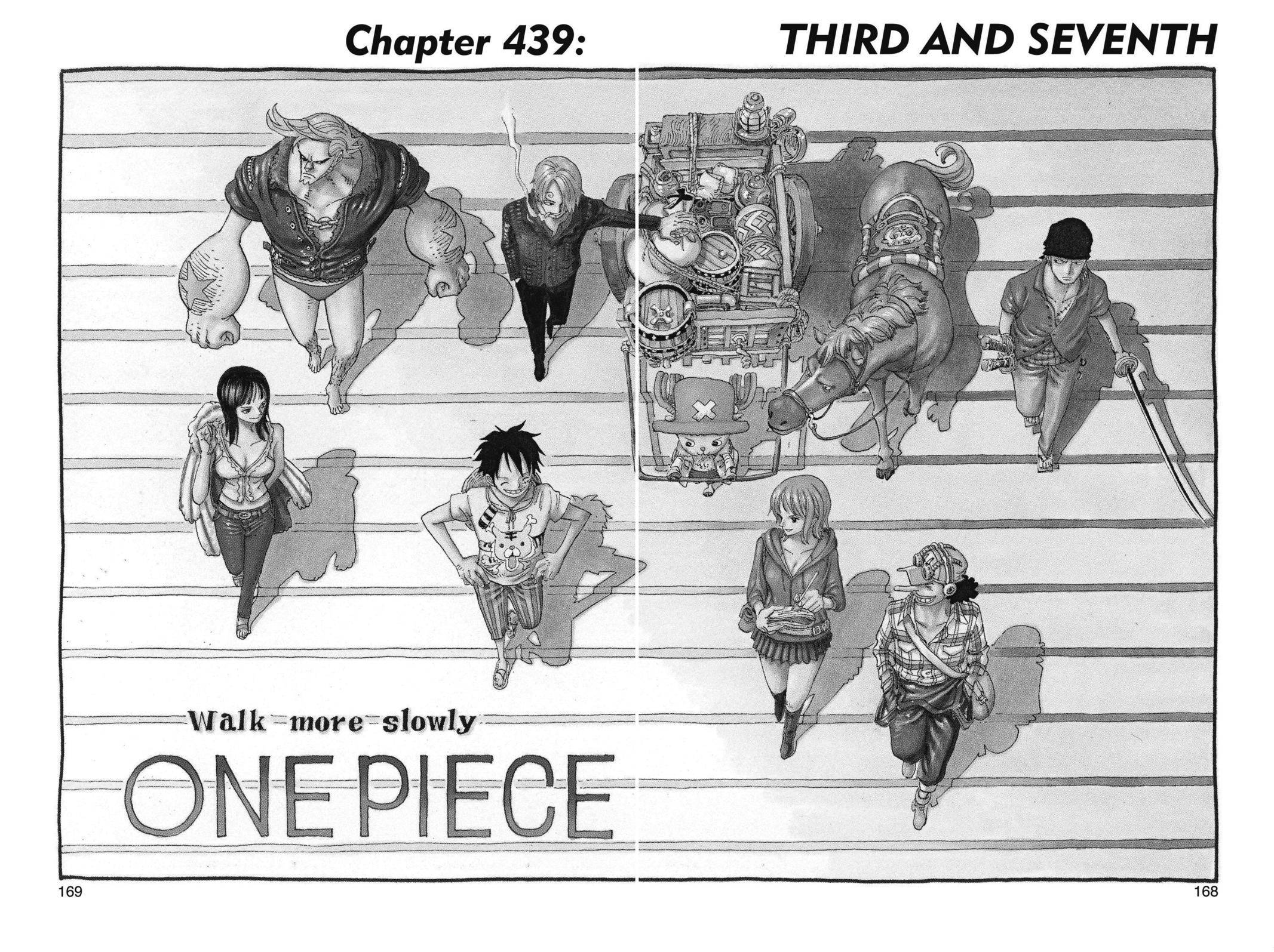 One Piece Chapter 439 Page 1