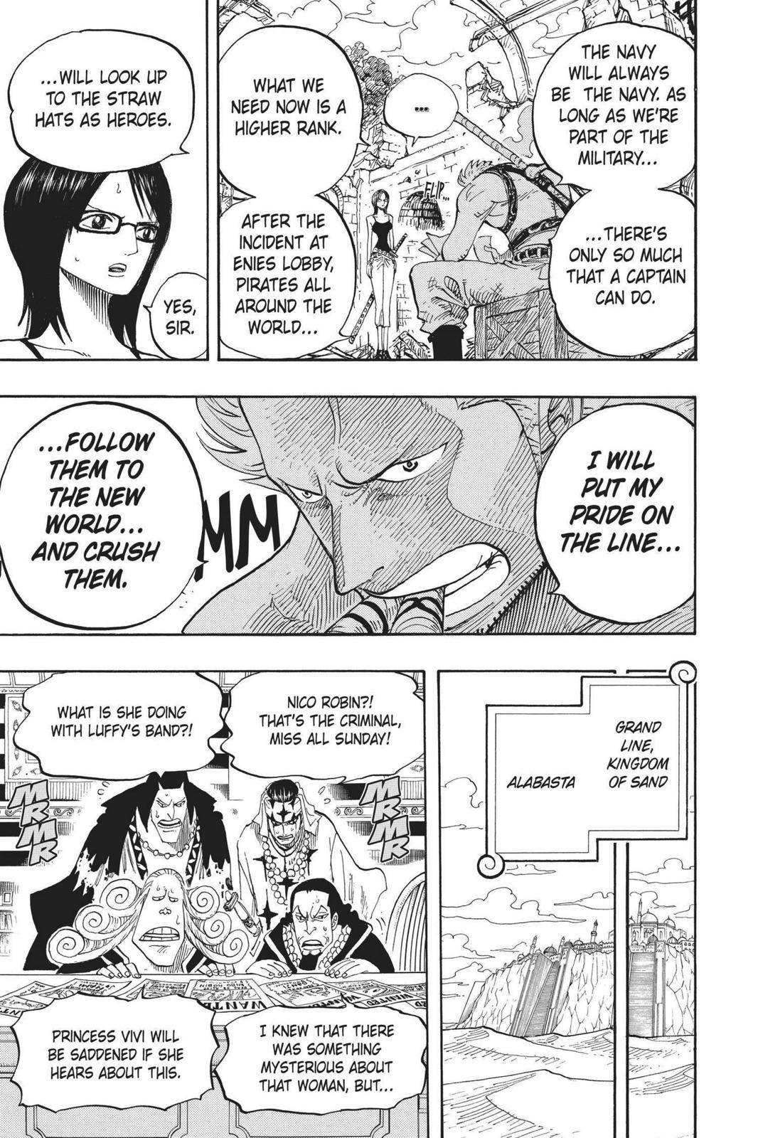 One Piece Chapter 439 Page 16