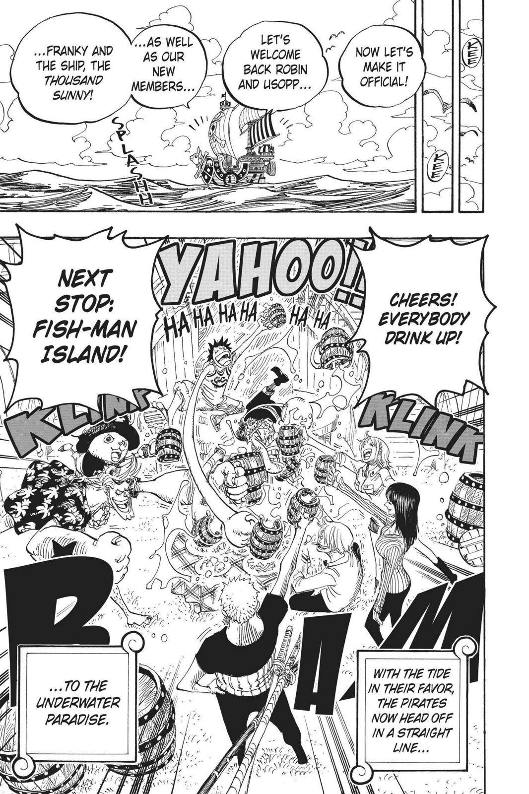 One Piece Chapter 439 Page 18
