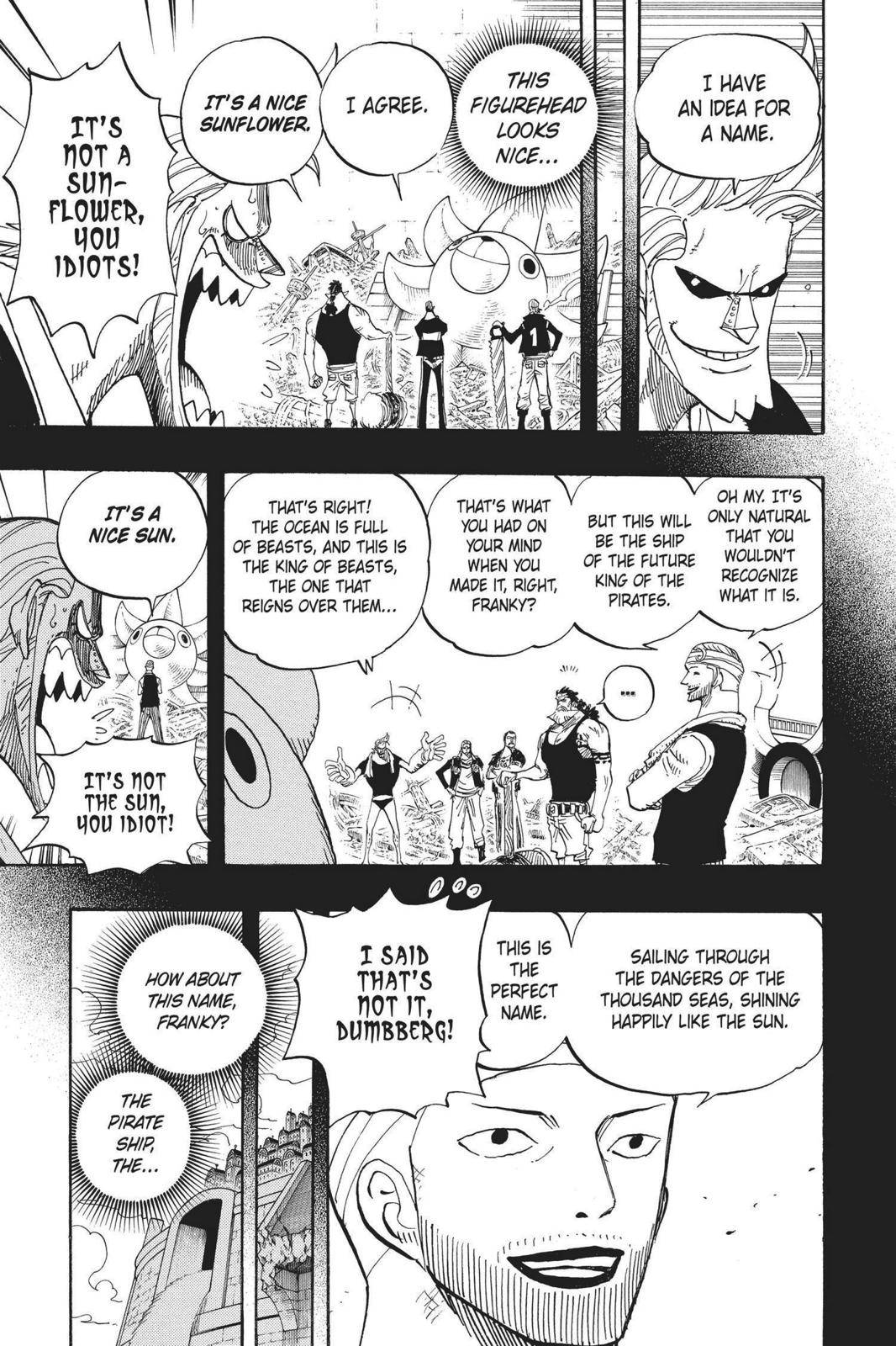 One Piece Chapter 439 Page 5
