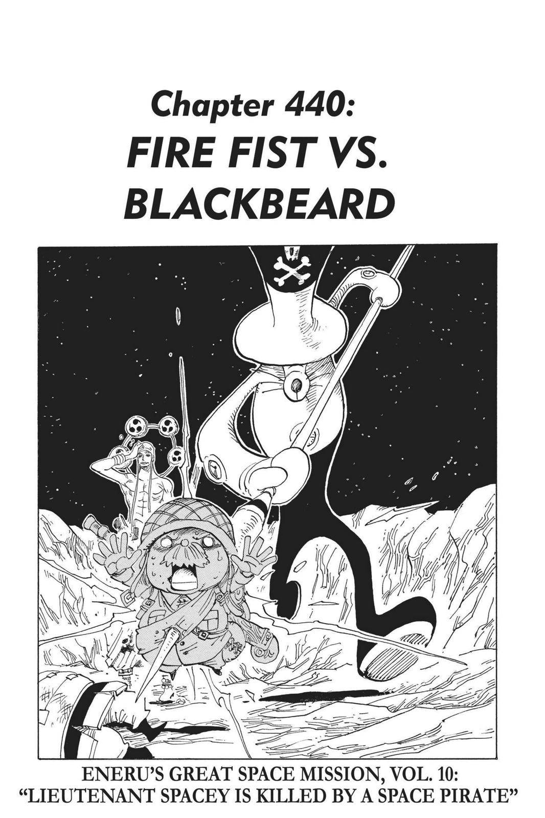 One Piece Chapter 440 Page 1