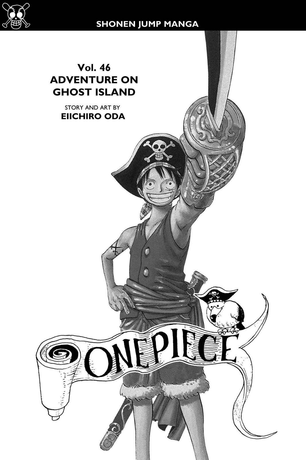 One Piece Chapter 441 Page 4