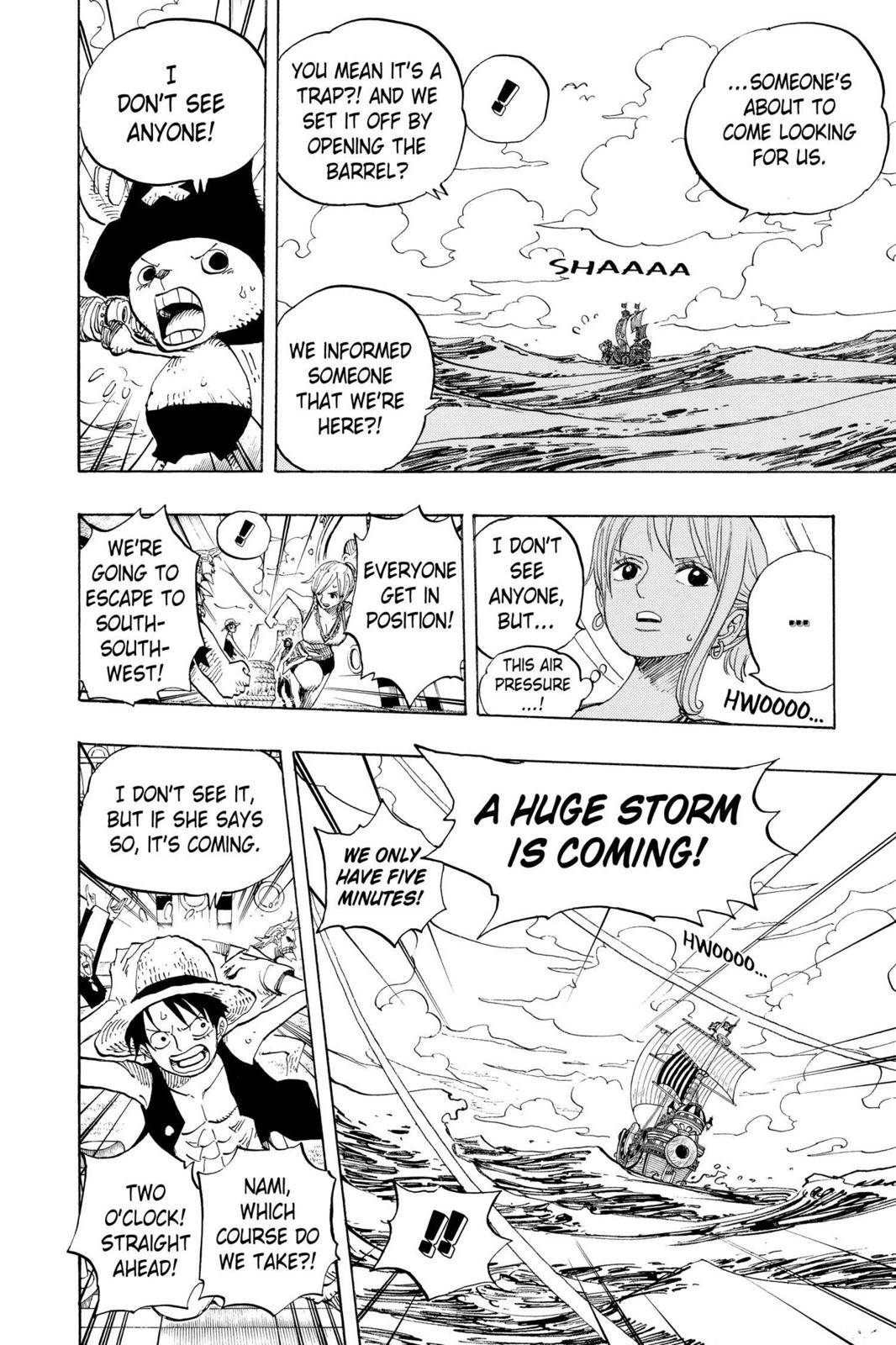 One Piece Chapter 442 Page 8
